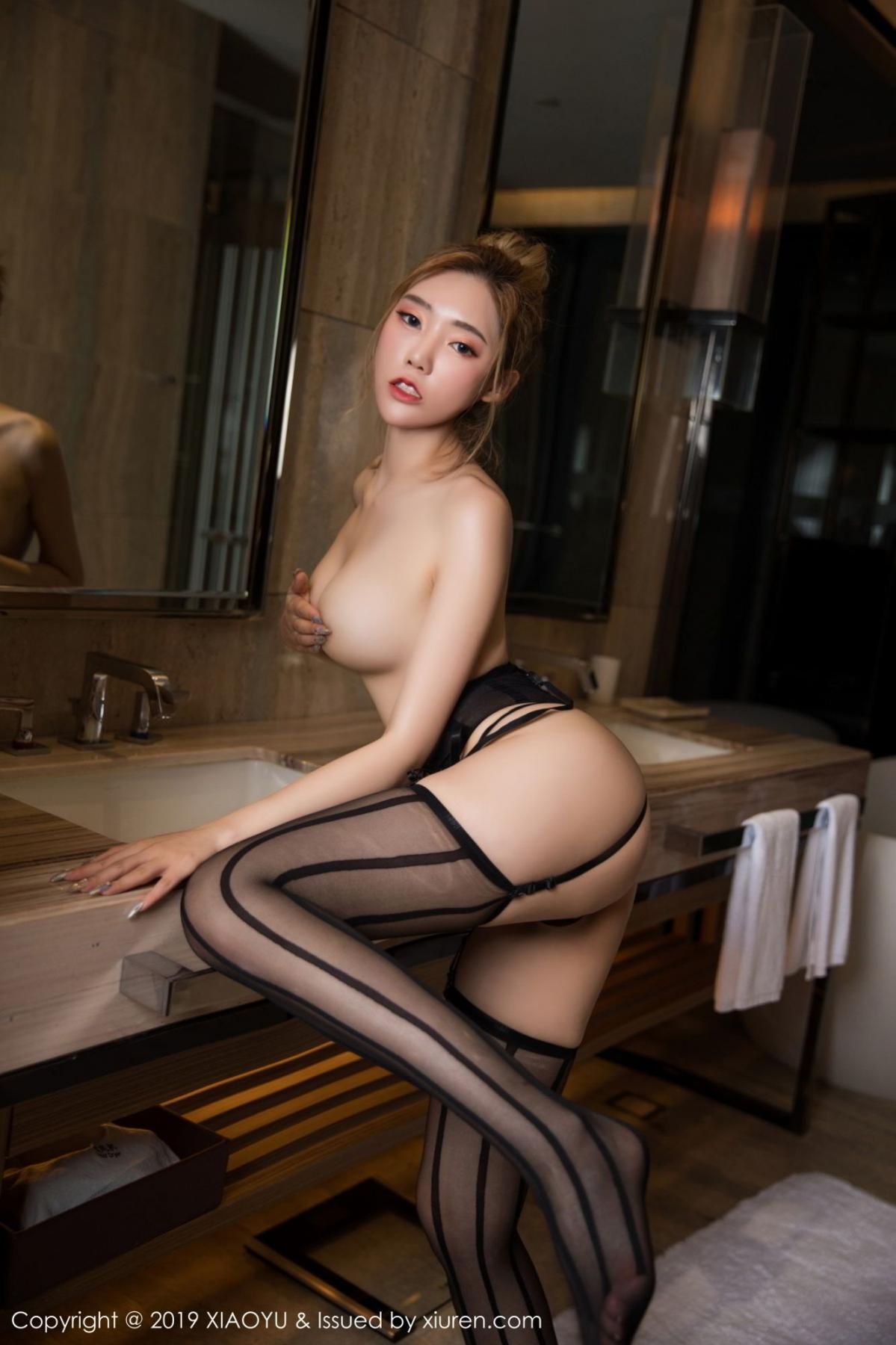 [XiaoYu] Vol.078 Meng Han Yao 53P, Big Booty, Black Silk, Meng Han Yao, XiaoYu
