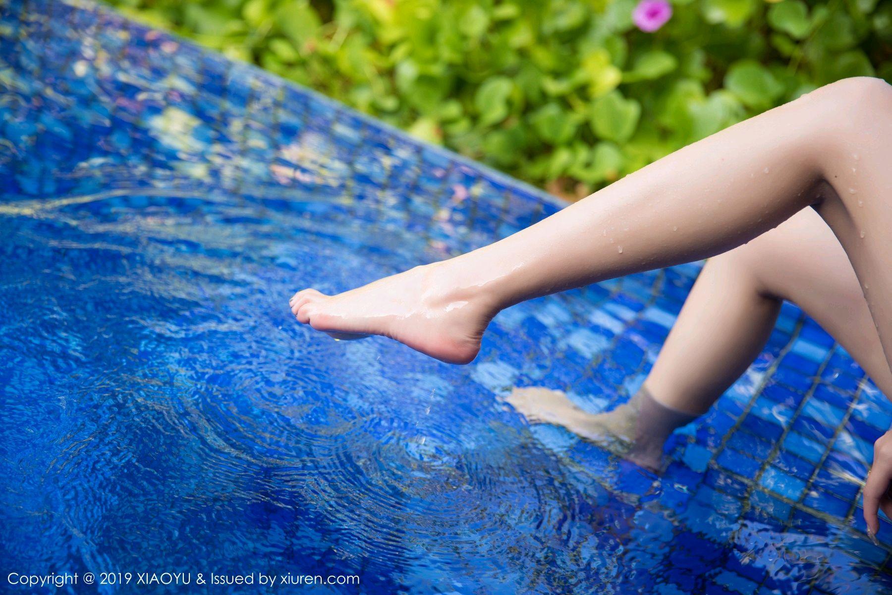 [XiaoYu] Vol.081 Yang Chen Chen 46P, Swim Pool, Wet, XiaoYu, Yang Chen Chen