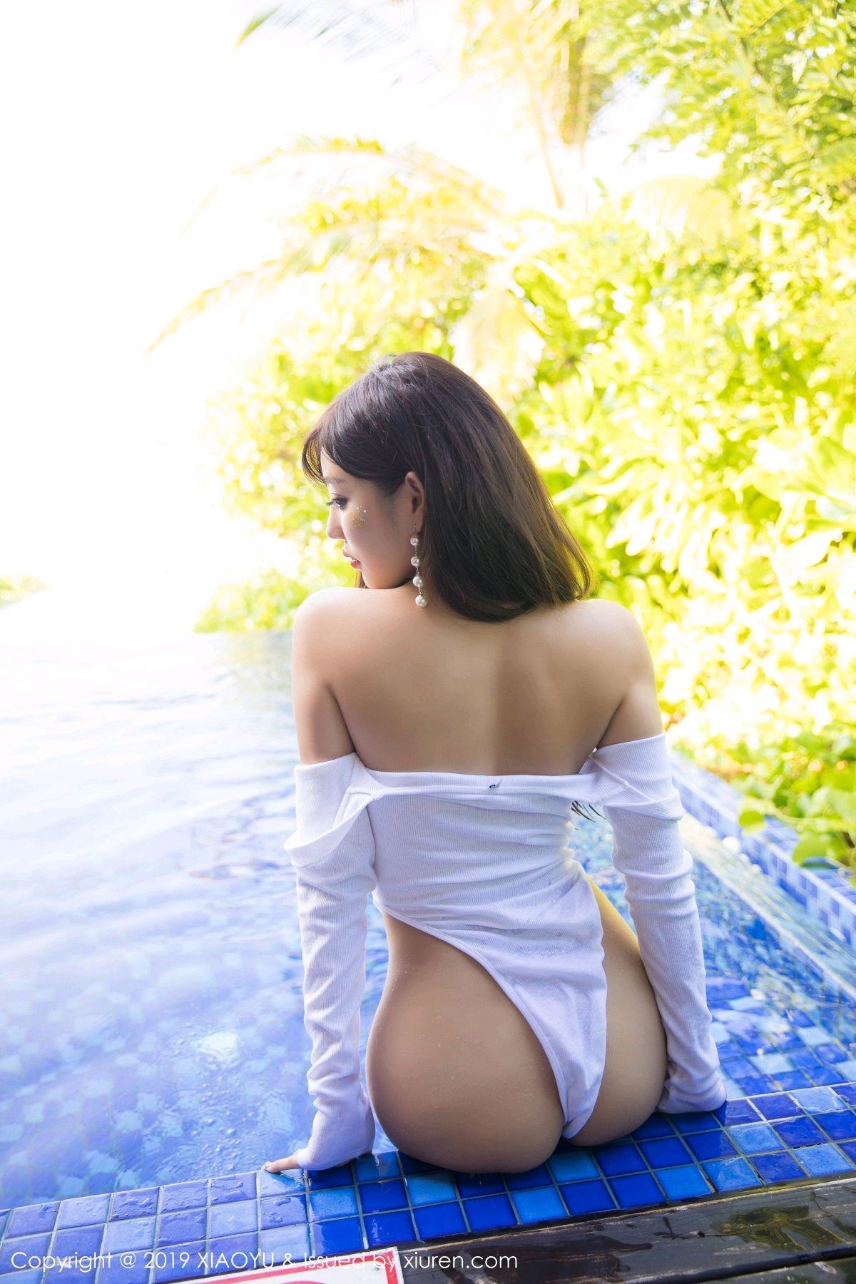 [XiaoYu] Vol.081 Yang Chen Chen 65P, Swim Pool, Wet, XiaoYu, Yang Chen Chen