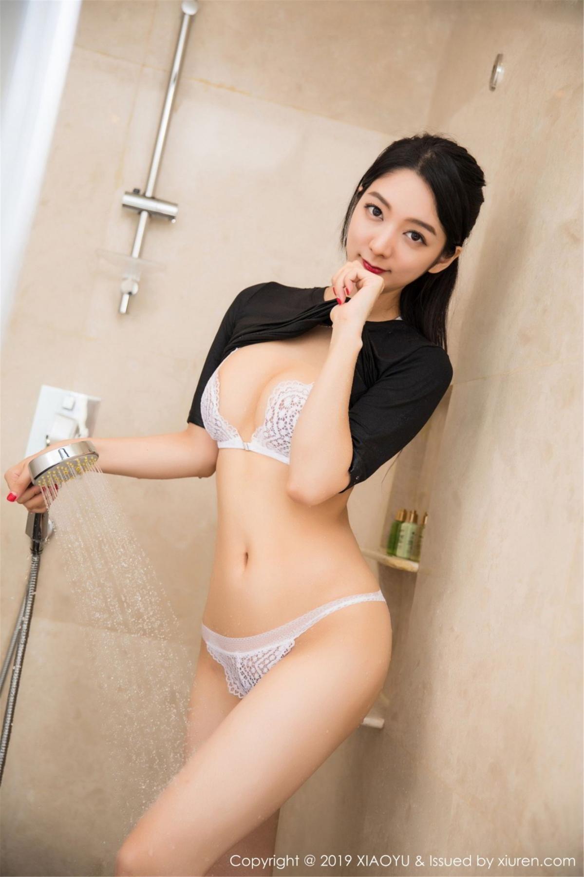 [XiaoYu] Vol.083 Di Yi 19P, Di Yi, Underwear, Wet, XiaoYu