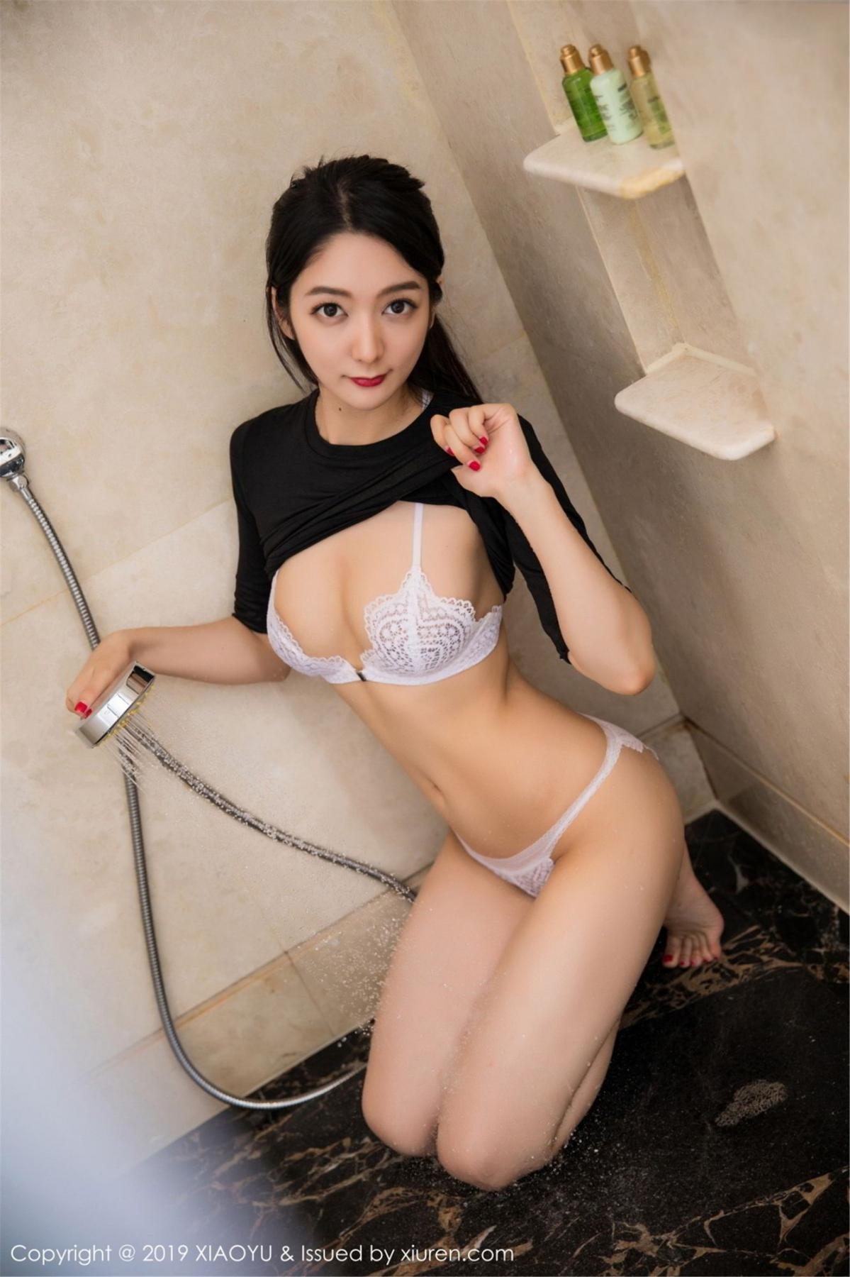 [XiaoYu] Vol.083 Di Yi 29P, Di Yi, Underwear, Wet, XiaoYu