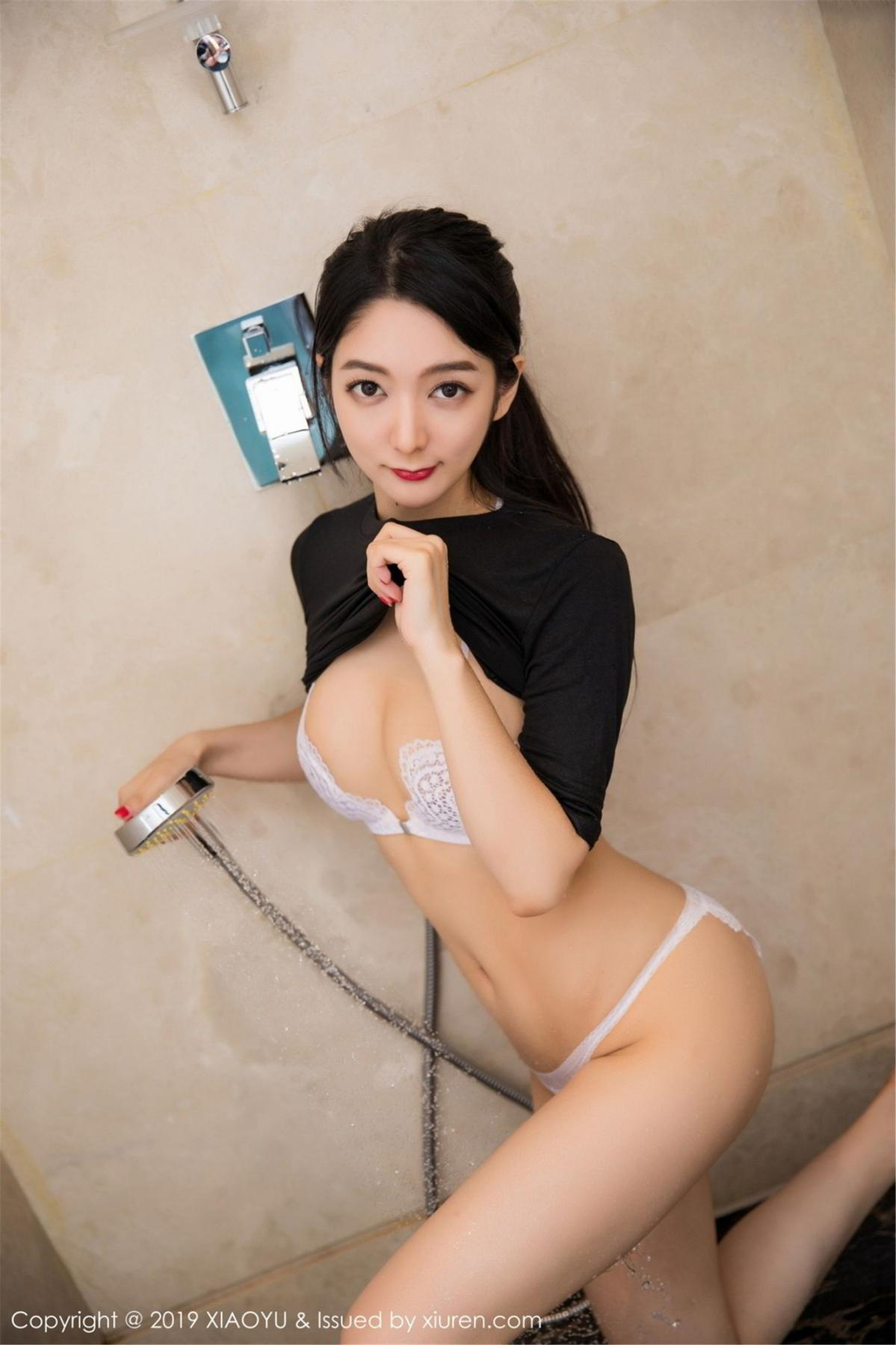 [XiaoYu] Vol.083 Di Yi 32P, Di Yi, Underwear, Wet, XiaoYu