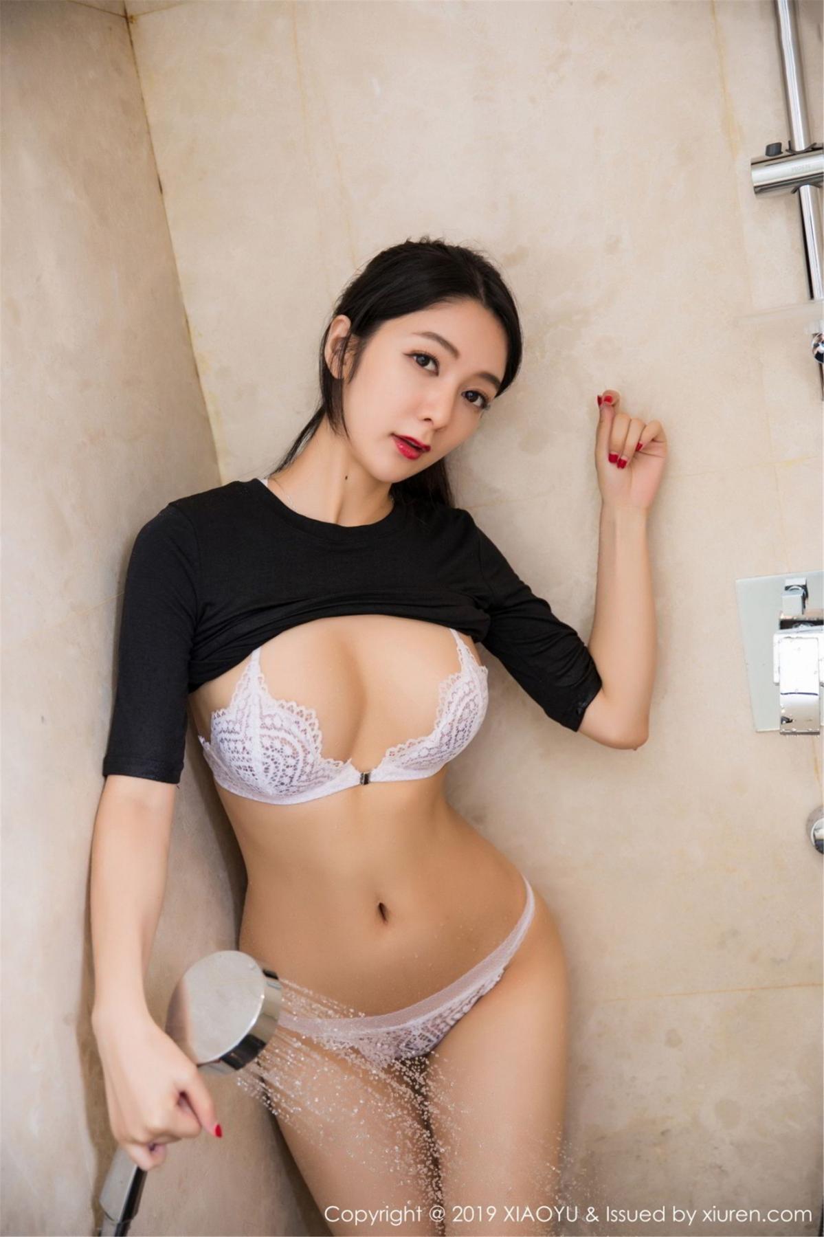[XiaoYu] Vol.083 Di Yi 38P, Di Yi, Underwear, Wet, XiaoYu