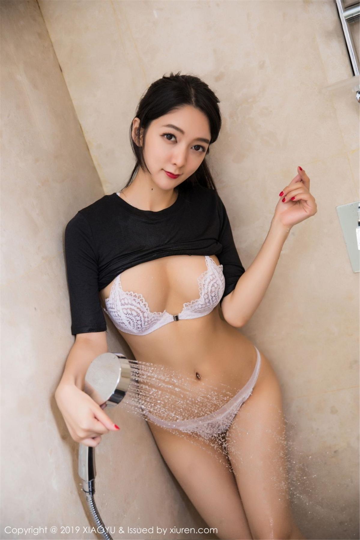 [XiaoYu] Vol.083 Di Yi 41P, Di Yi, Underwear, Wet, XiaoYu