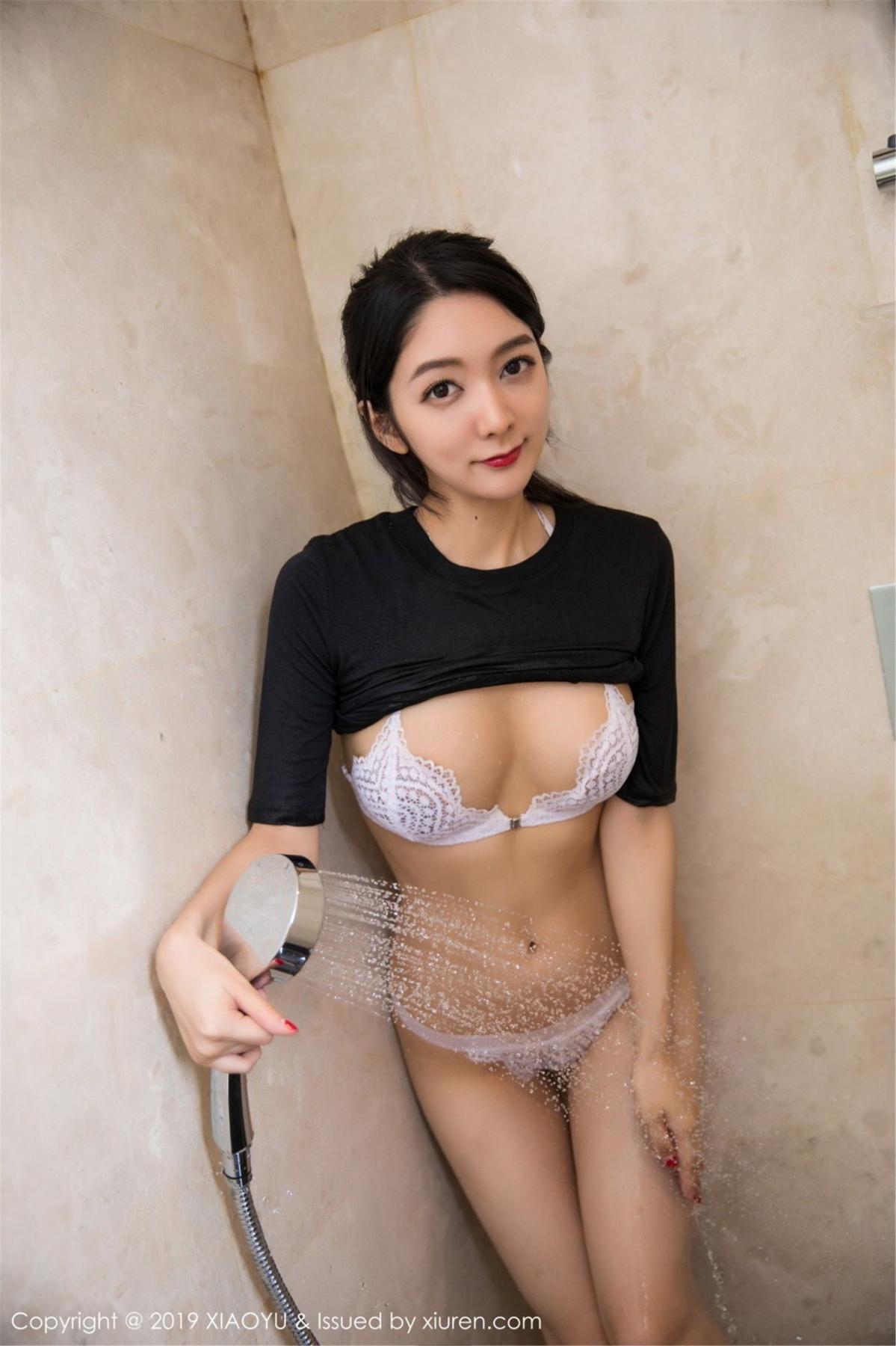 [XiaoYu] Vol.083 Di Yi 42P, Di Yi, Underwear, Wet, XiaoYu
