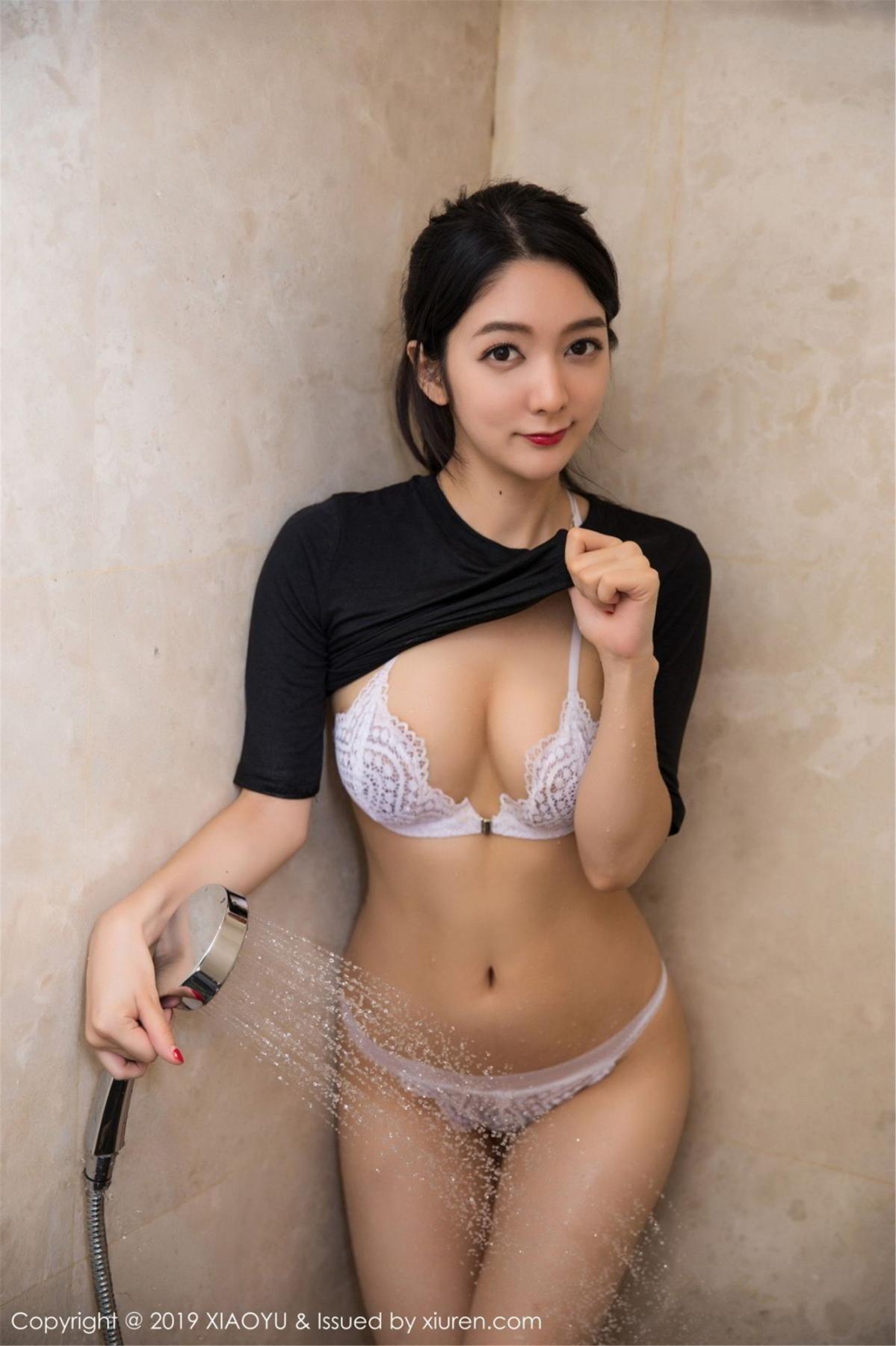 [XiaoYu] Vol.083 Di Yi 45P, Di Yi, Underwear, Wet, XiaoYu