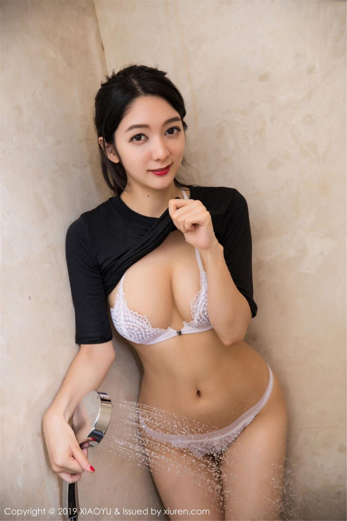 [XiaoYu] Vol.083 Di Yi 49P, Di Yi, Underwear, Wet, XiaoYu