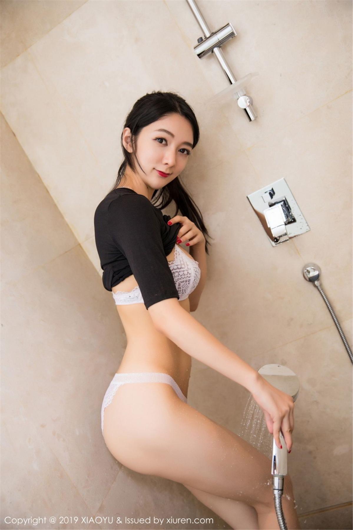[XiaoYu] Vol.083 Di Yi 54P, Di Yi, Underwear, Wet, XiaoYu