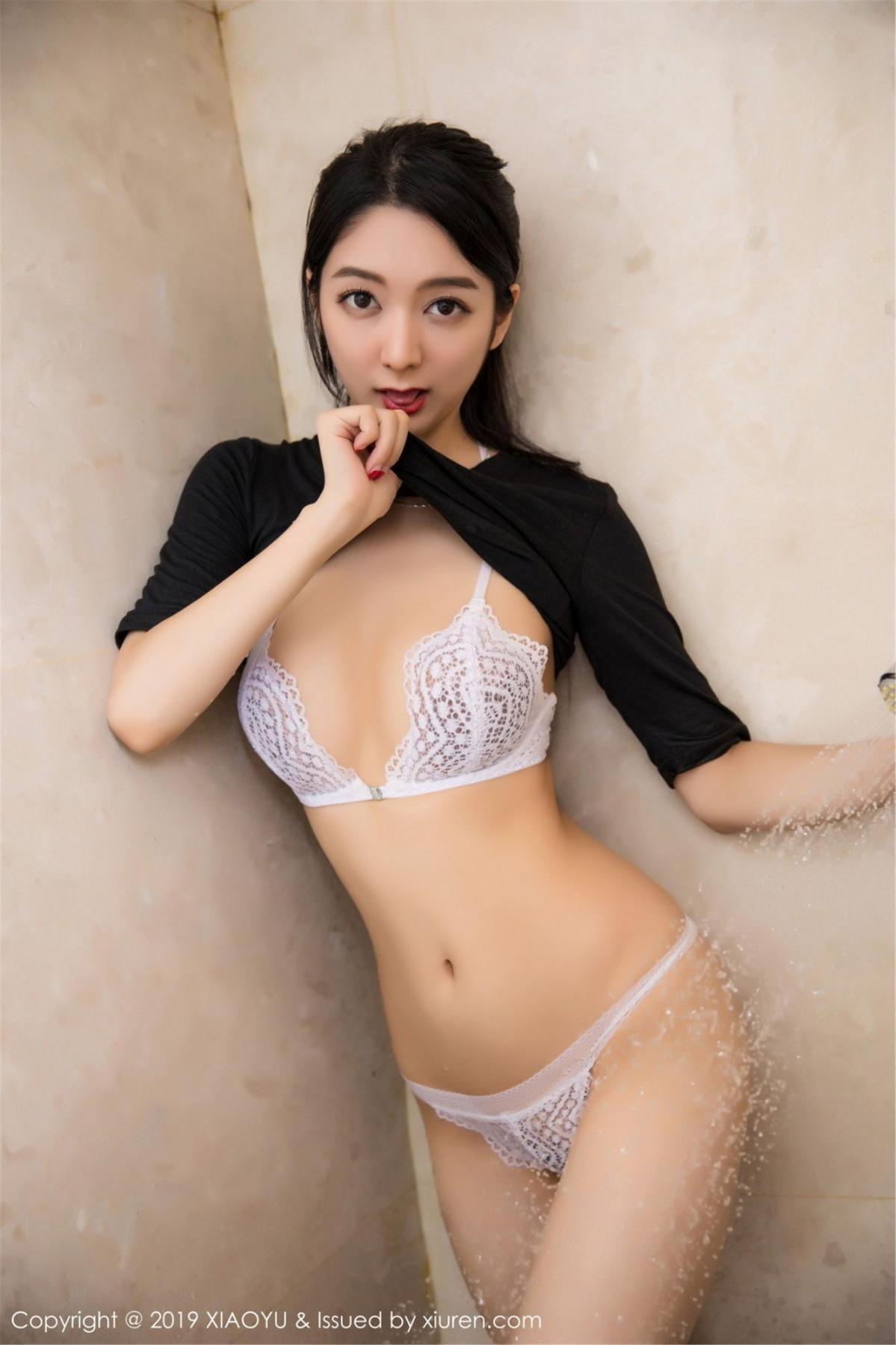 [XiaoYu] Vol.083 Di Yi 56P, Di Yi, Underwear, Wet, XiaoYu