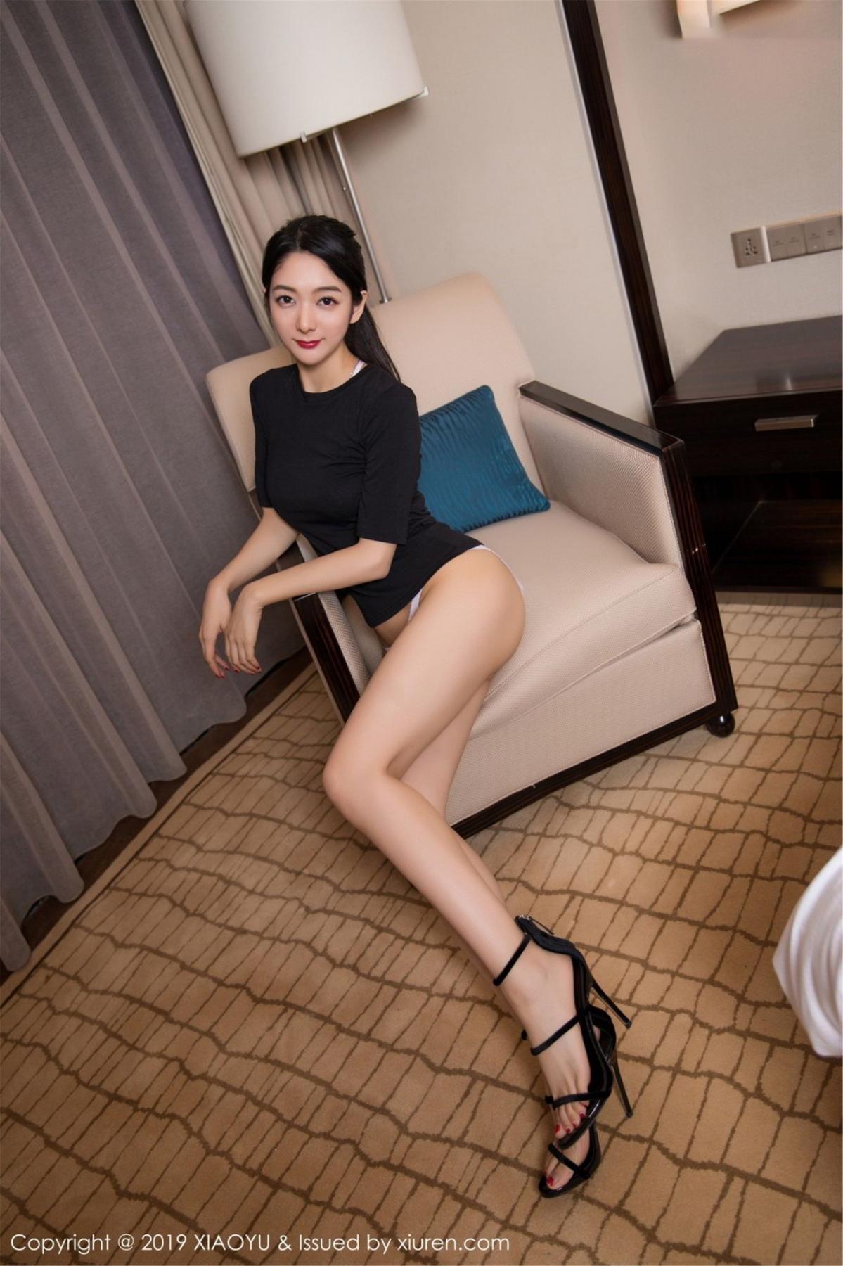 [XiaoYu] Vol.083 Di Yi 7P, Di Yi, Underwear, Wet, XiaoYu