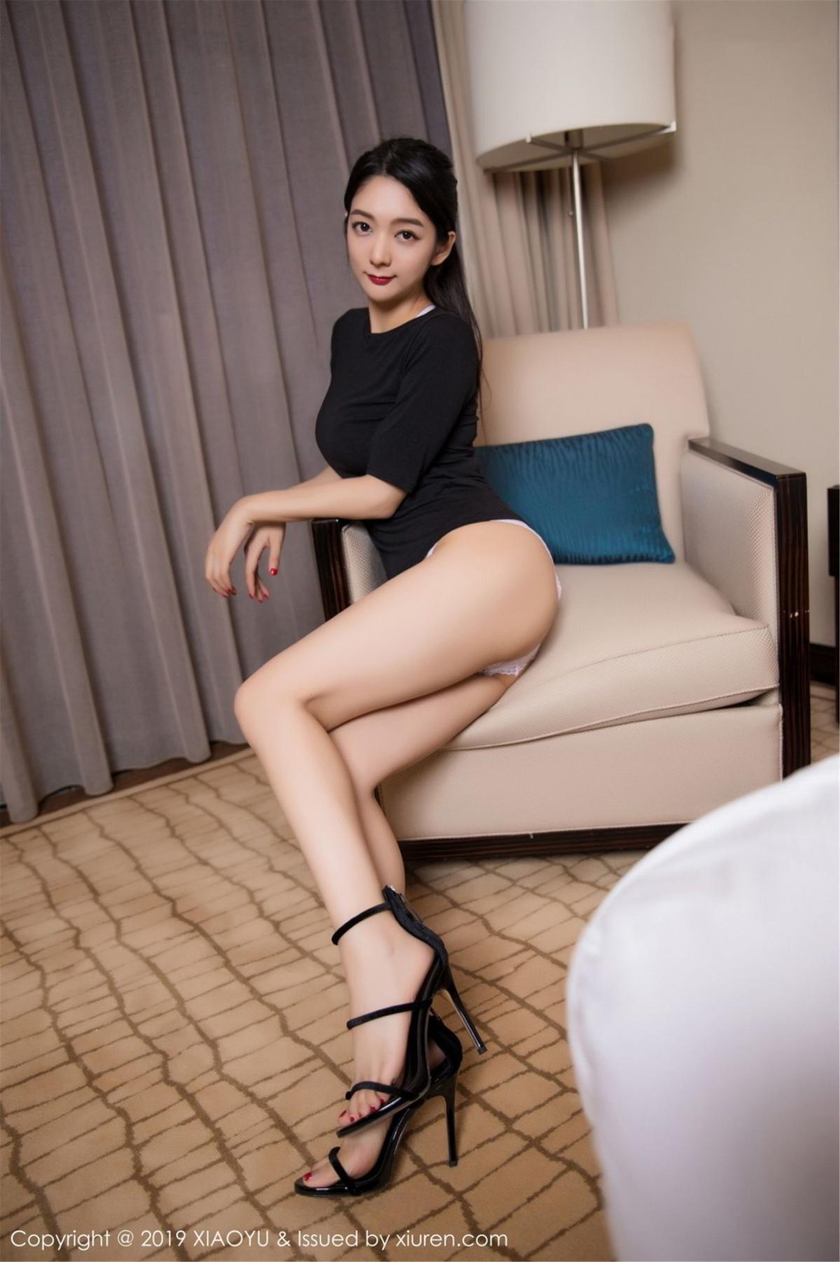[XiaoYu] Vol.083 Di Yi 8P, Di Yi, Underwear, Wet, XiaoYu