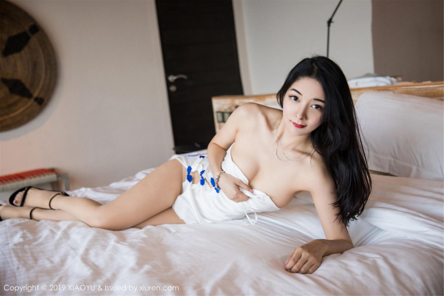 [XiaoYu] Vol.088 Di Yi 27P, Big Booty, Black Silk, Cheongsam, Di Yi, Tall, XiaoYu