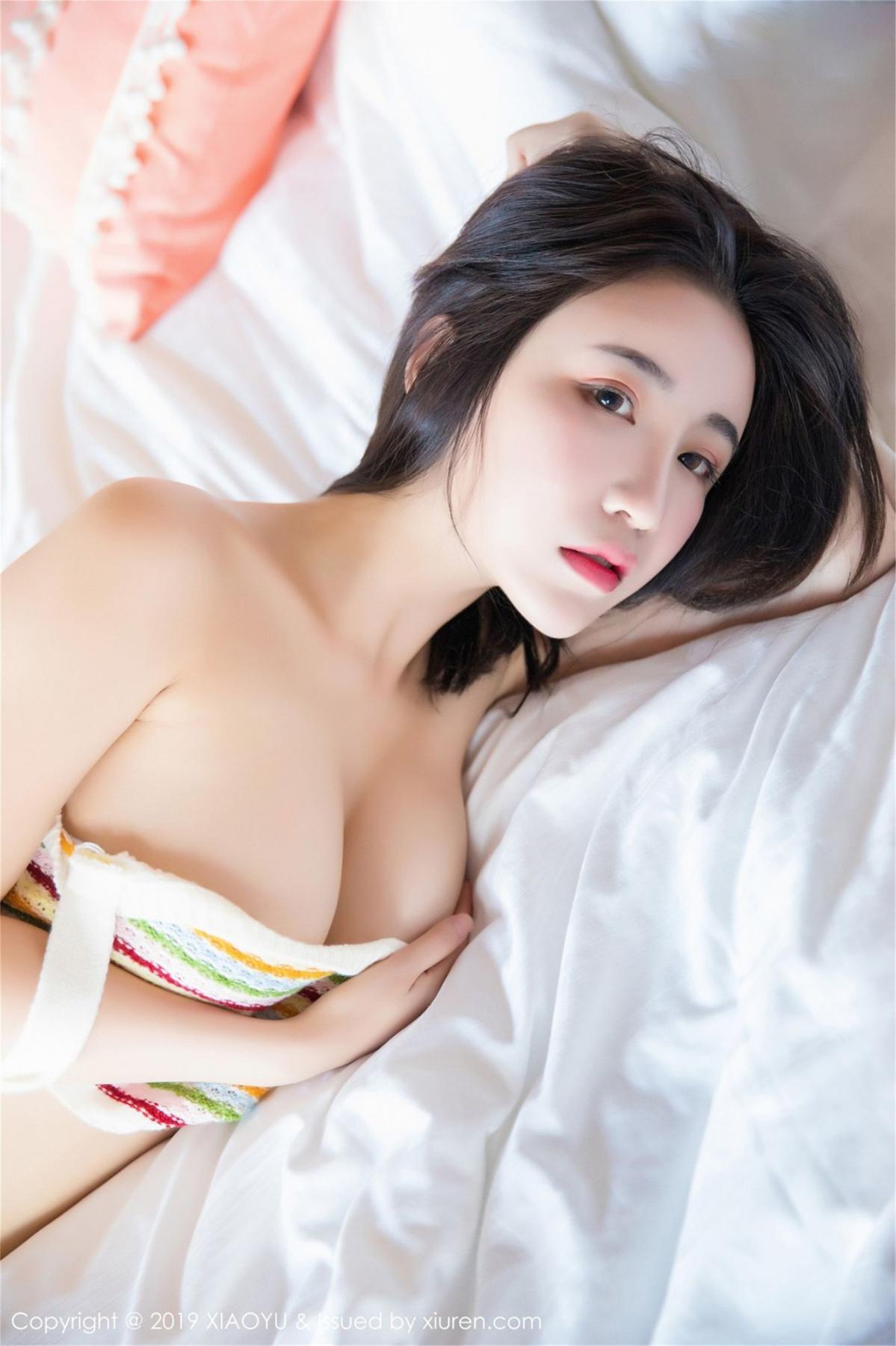 [XiaoYu] Vol.090 Xie Zhi Xin 27P, Home, Underwear, XiaoYu, Xie Zhi Xin
