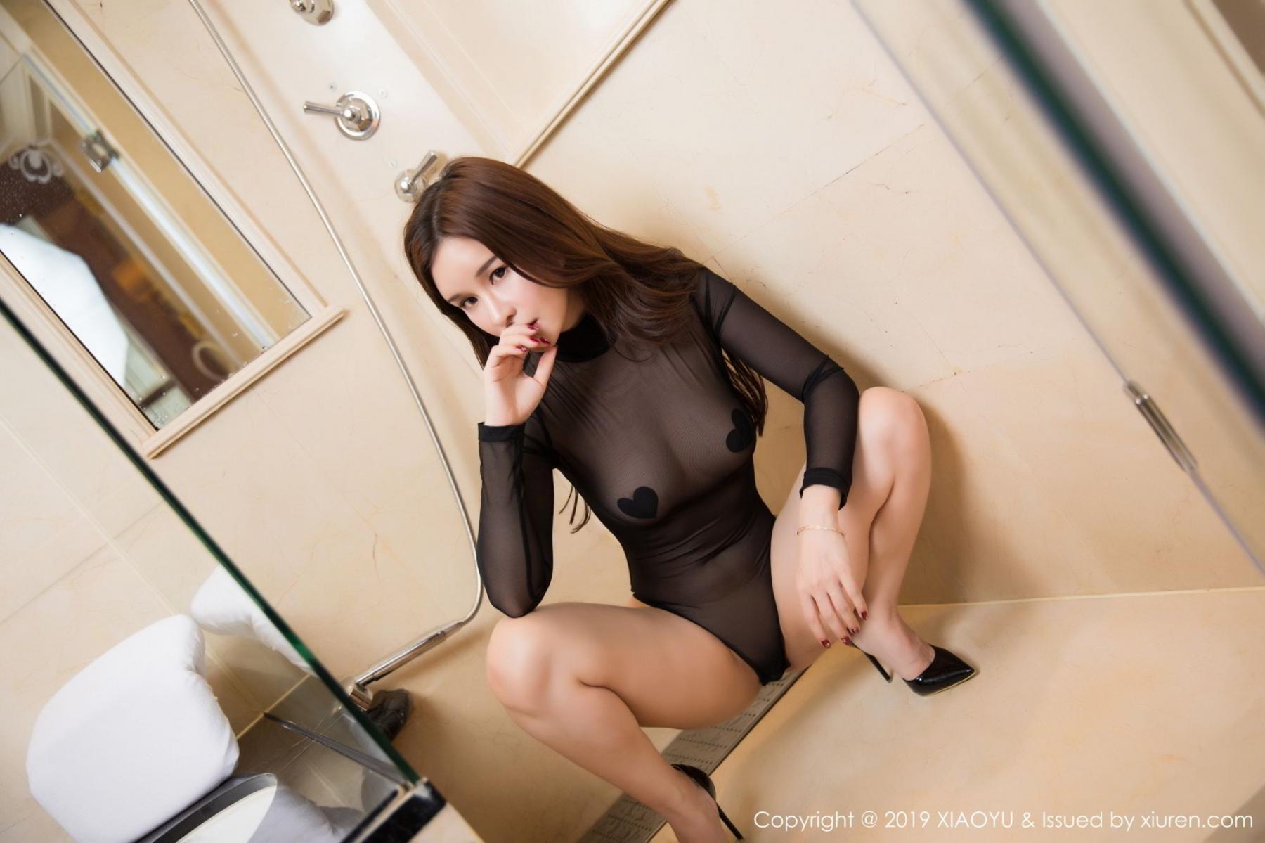 [XiaoYu] Vol.091 Chun Xiao Xi 12P, Bathroom, Chun Xiao Xi, Wet, XiaoYu