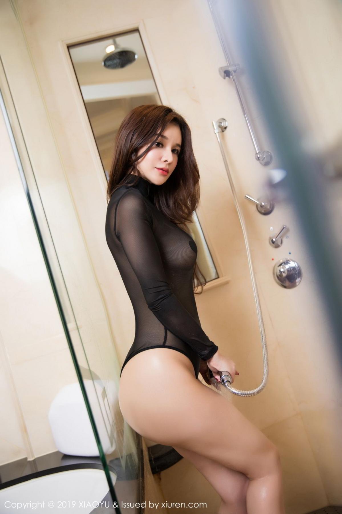 [XiaoYu] Vol.091 Chun Xiao Xi 46P, Bathroom, Chun Xiao Xi, Wet, XiaoYu