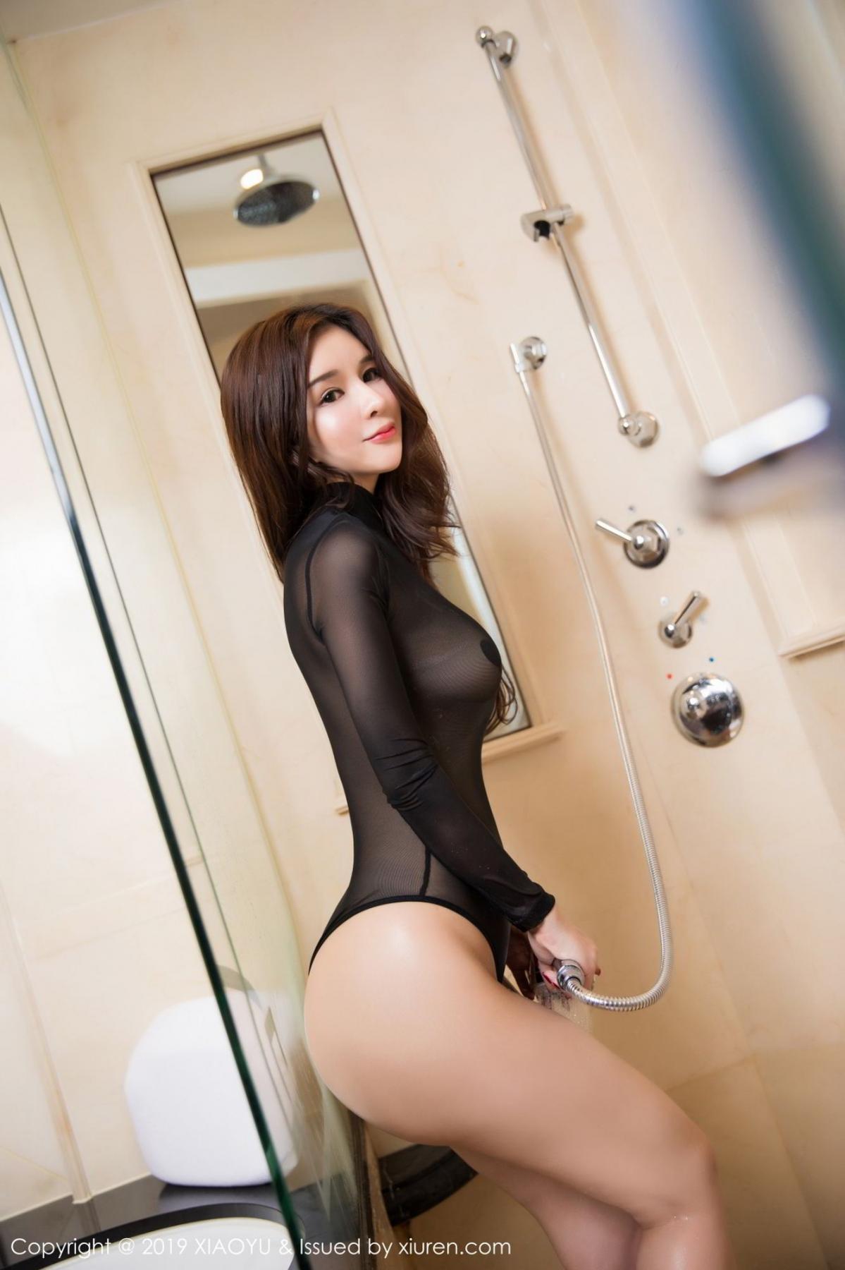 [XiaoYu] Vol.091 Chun Xiao Xi 47P, Bathroom, Chun Xiao Xi, Wet, XiaoYu