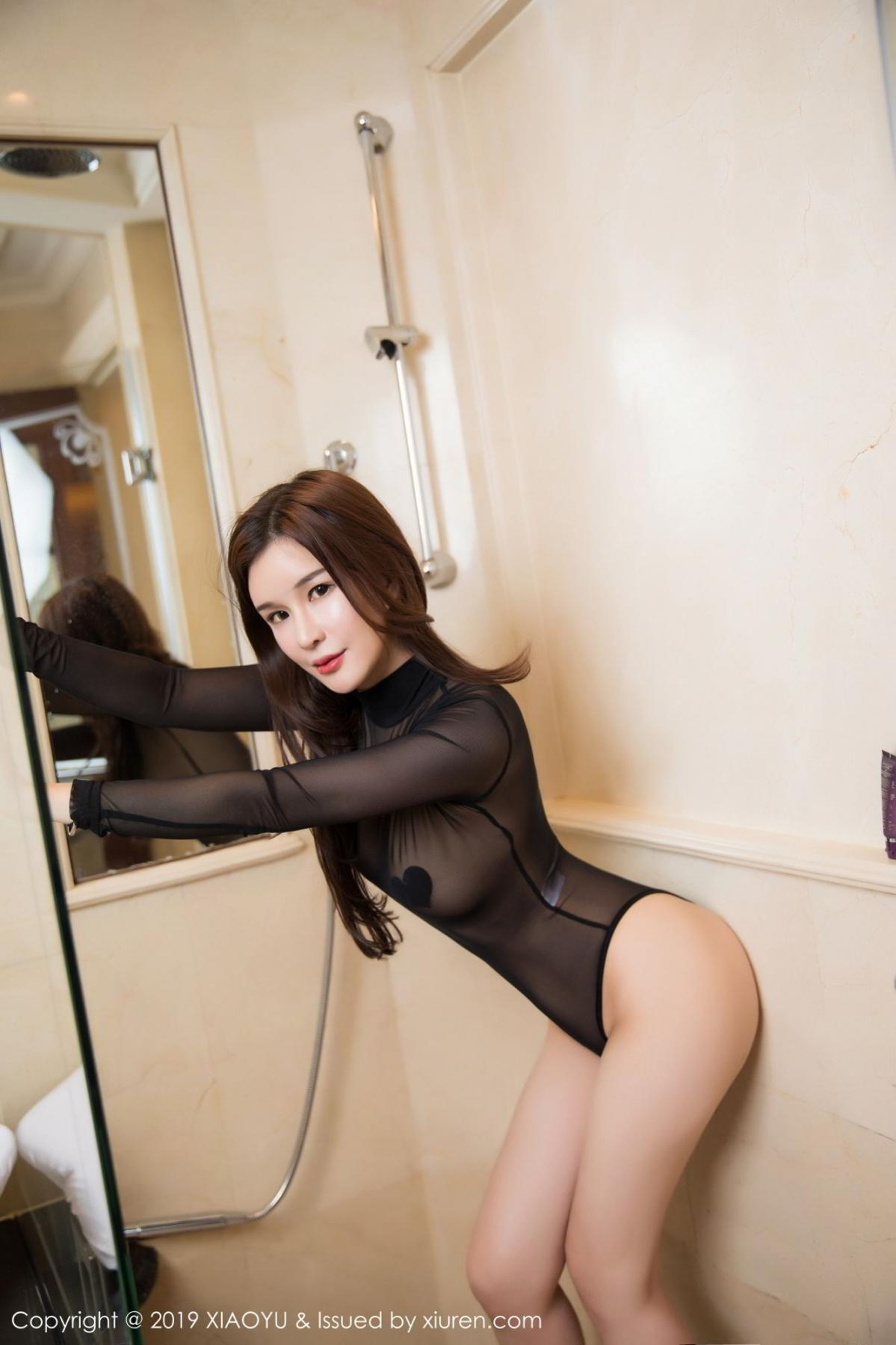 [XiaoYu] Vol.091 Chun Xiao Xi 9P, Bathroom, Chun Xiao Xi, Wet, XiaoYu