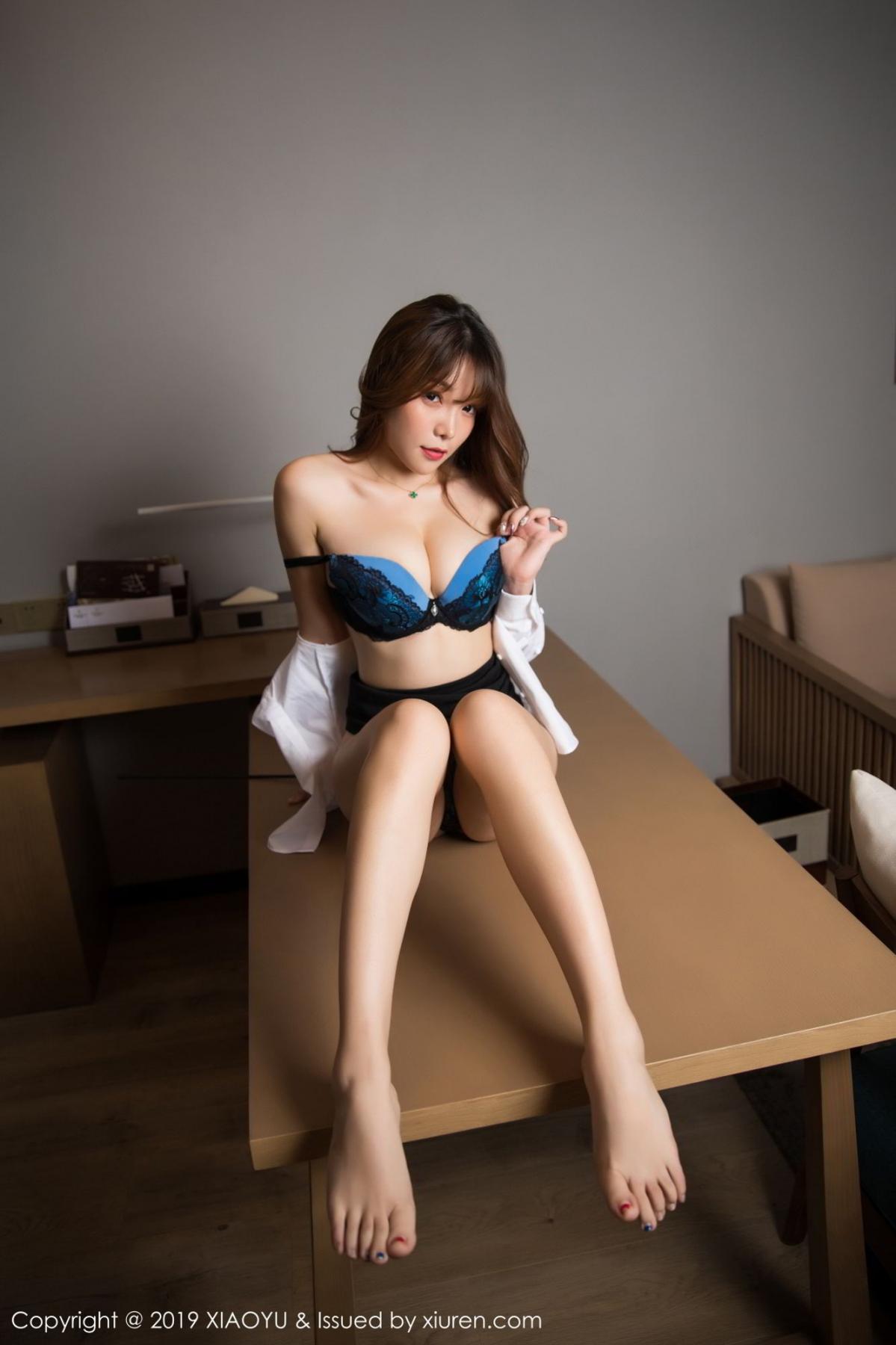 [XiaoYu] Vol.095 Chen Zhi 60P, Big Booty, Black Silk, Chen Zhi, Uniform, XiaoYu