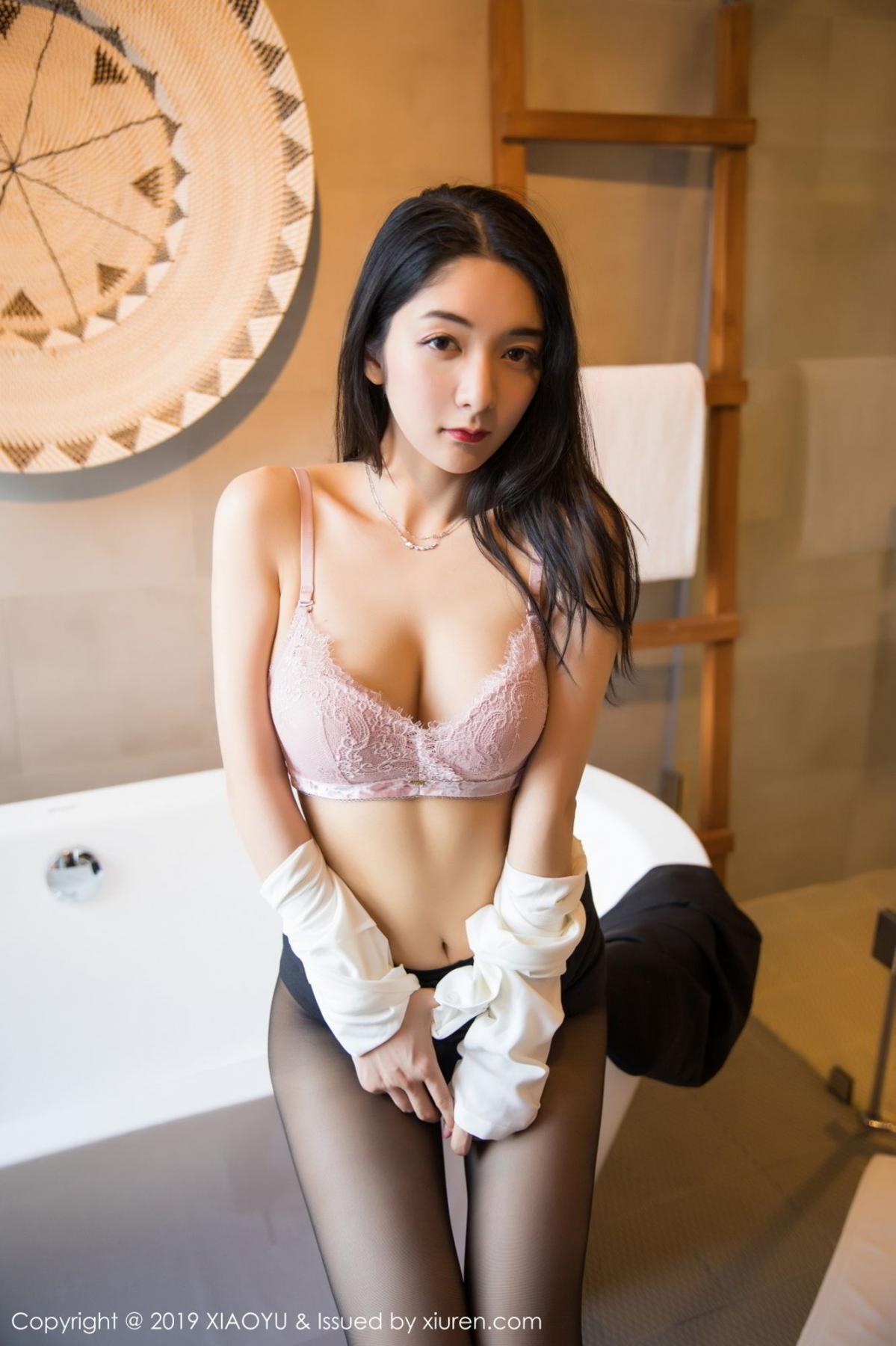 [XiaoYu] Vol.098 Di Yi 62P, Black Silk, Di Yi, Uniform, XiaoYu