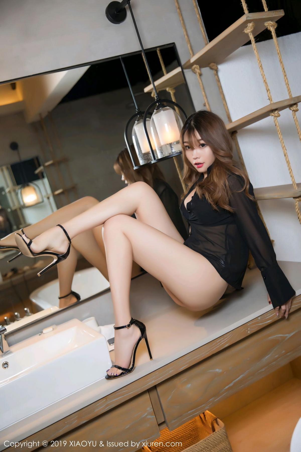 [XiaoYu] Vol.105 Chen Zhi 10P, Bathroom, Big Booty, Chen Zhi, Wet, XiaoYu