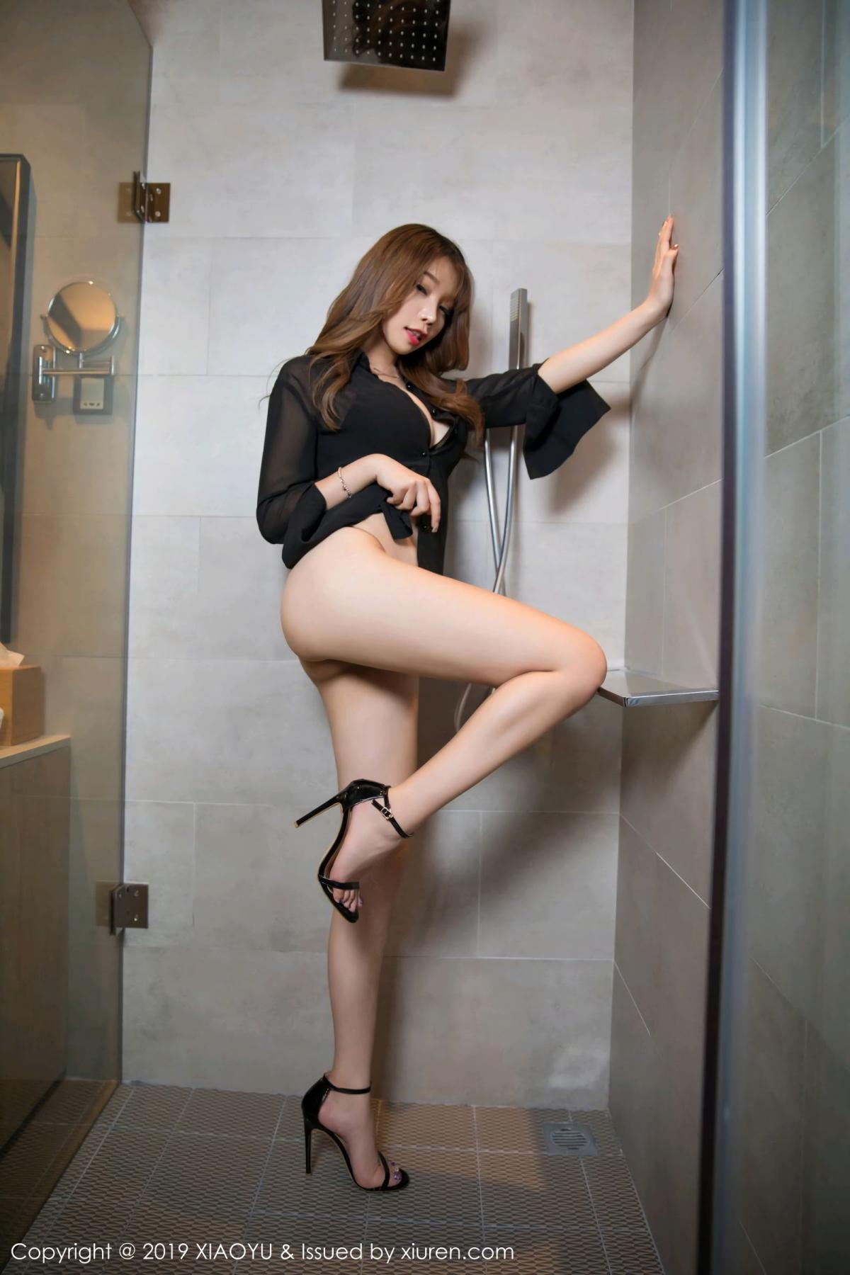 [XiaoYu] Vol.105 Chen Zhi 12P, Bathroom, Big Booty, Chen Zhi, Wet, XiaoYu