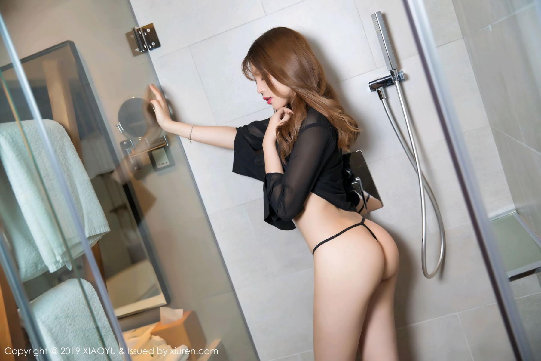 [XiaoYu] Vol.105 Chen Zhi 15P, Bathroom, Big Booty, Chen Zhi, Wet, XiaoYu