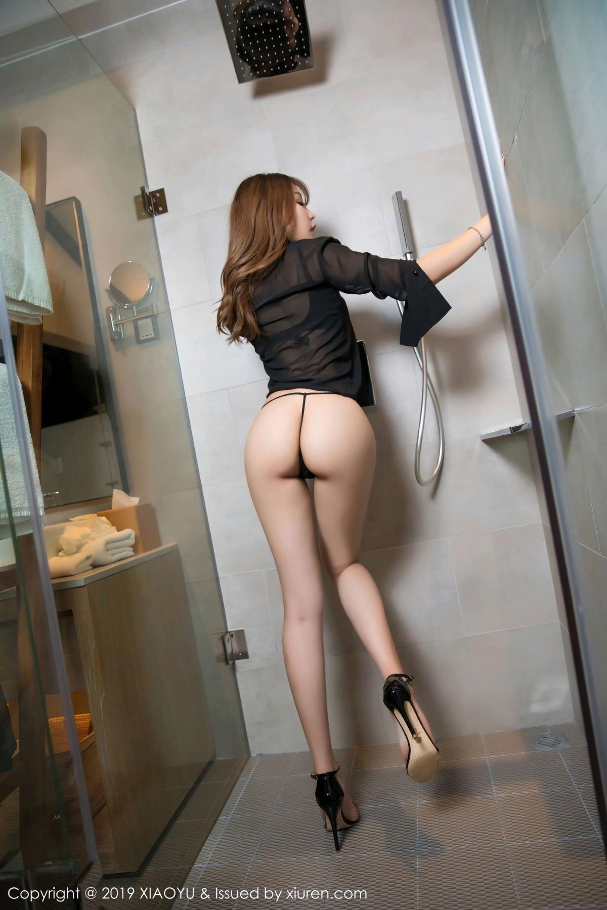 [XiaoYu] Vol.105 Chen Zhi 17P, Bathroom, Big Booty, Chen Zhi, Wet, XiaoYu