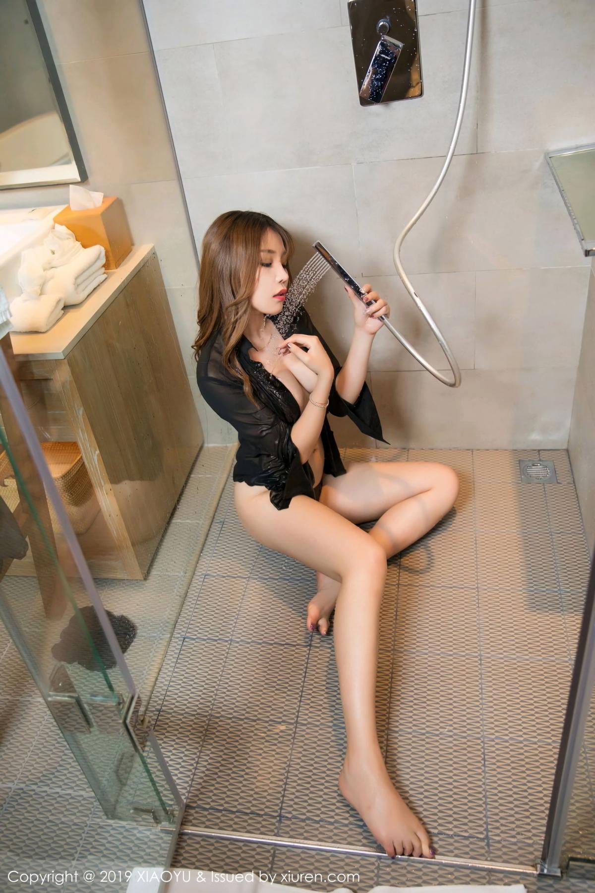[XiaoYu] Vol.105 Chen Zhi 35P, Bathroom, Big Booty, Chen Zhi, Wet, XiaoYu