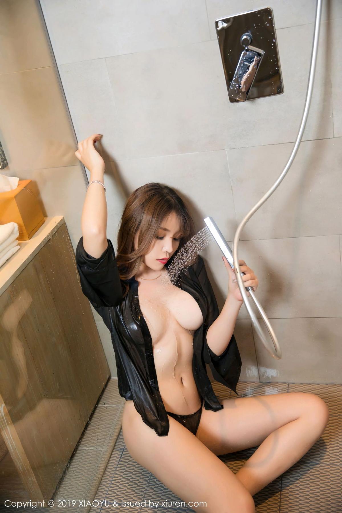 [XiaoYu] Vol.105 Chen Zhi 37P, Bathroom, Big Booty, Chen Zhi, Wet, XiaoYu