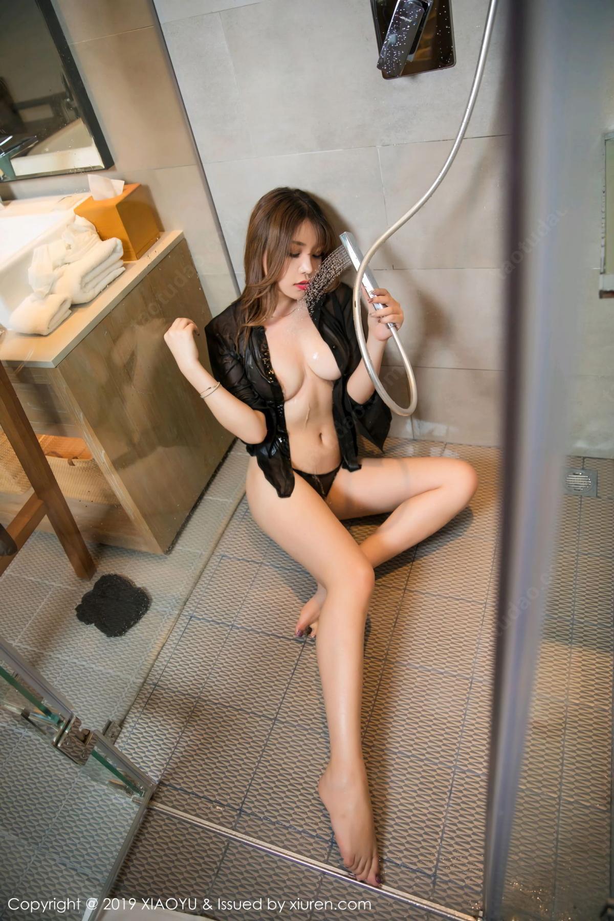 [XiaoYu] Vol.105 Chen Zhi 38P, Bathroom, Big Booty, Chen Zhi, Wet, XiaoYu
