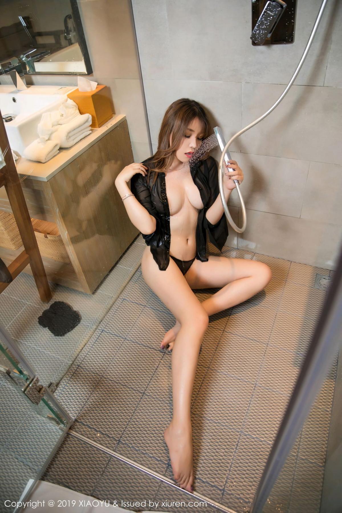 [XiaoYu] Vol.105 Chen Zhi 5P, Bathroom, Big Booty, Chen Zhi, Wet, XiaoYu