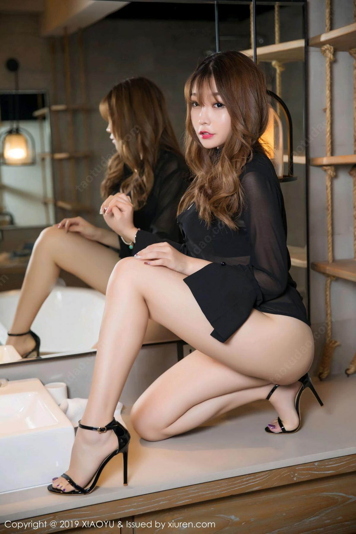 [XiaoYu] Vol.105 Chen Zhi 6P, Bathroom, Big Booty, Chen Zhi, Wet, XiaoYu