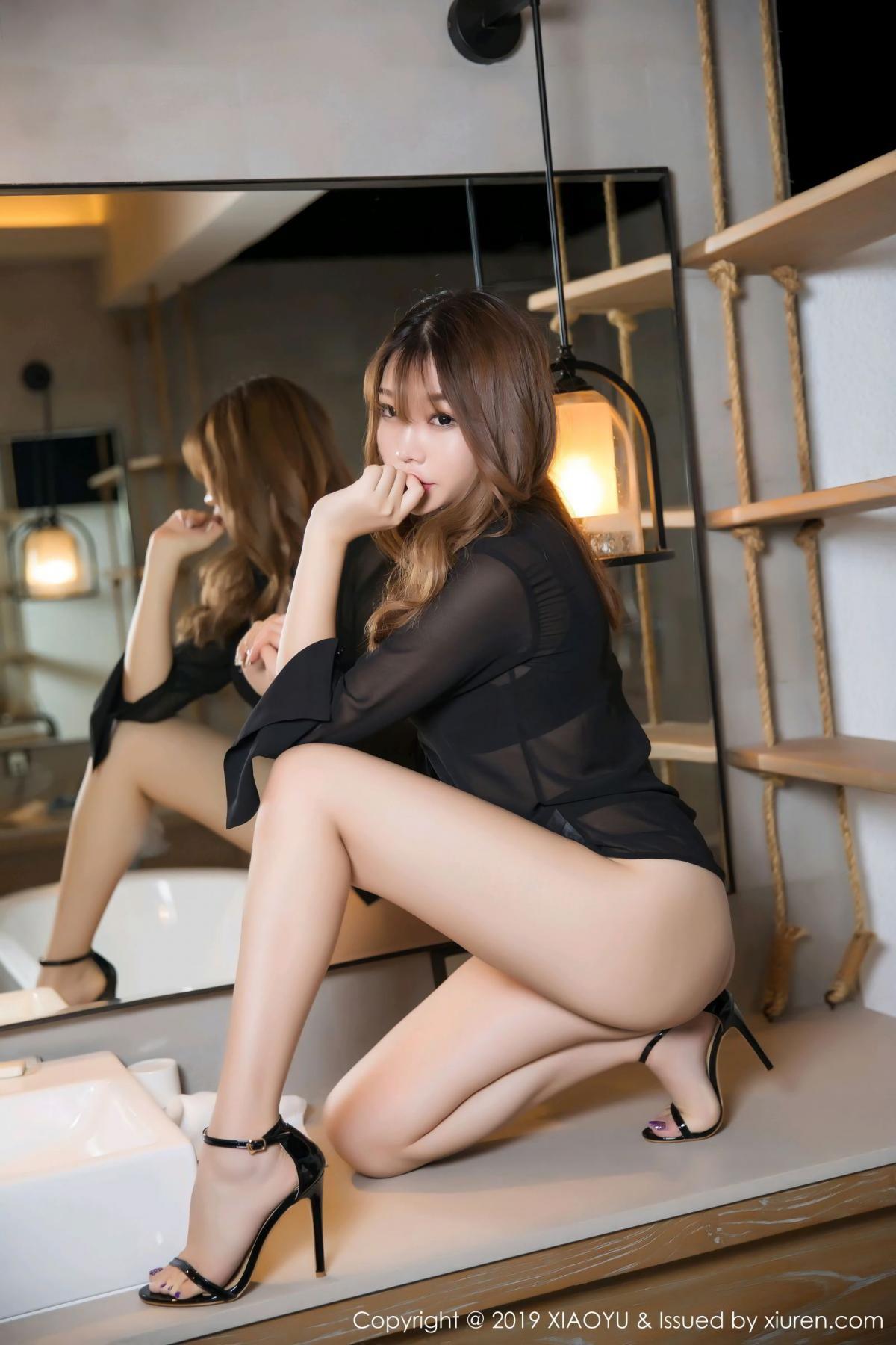 [XiaoYu] Vol.105 Chen Zhi 7P, Bathroom, Big Booty, Chen Zhi, Wet, XiaoYu