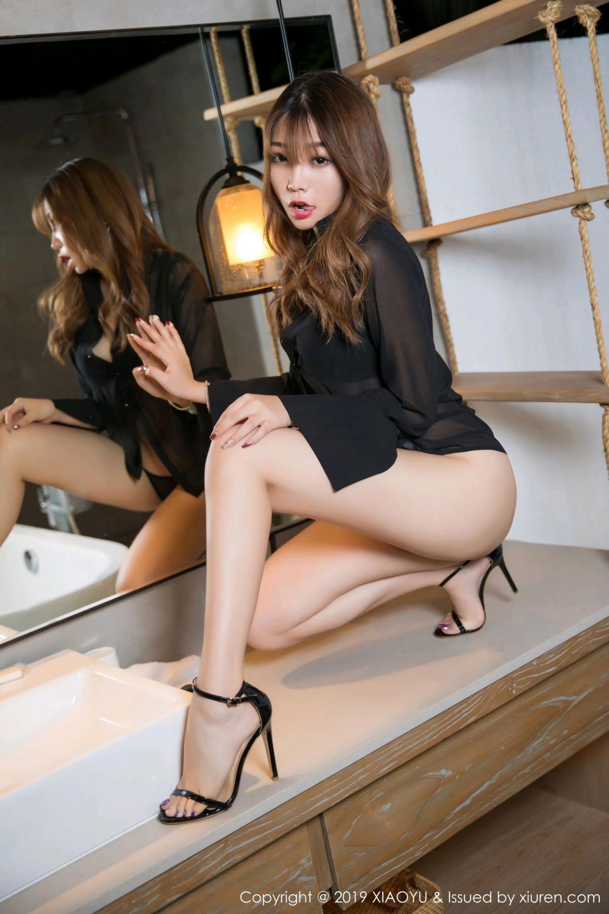 [XiaoYu] Vol.105 Chen Zhi 8P, Bathroom, Big Booty, Chen Zhi, Wet, XiaoYu