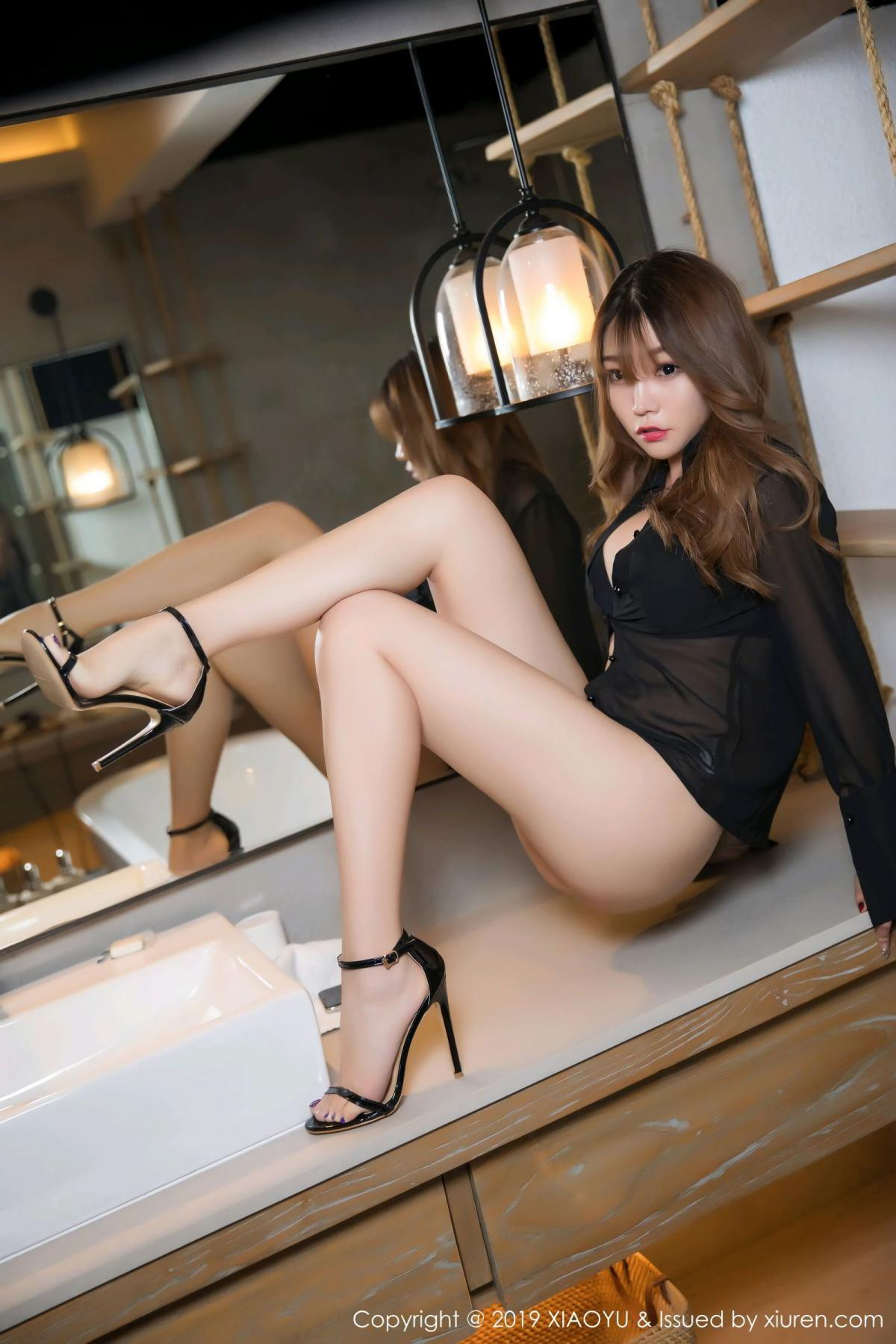 [XiaoYu] Vol.105 Chen Zhi 9P, Bathroom, Big Booty, Chen Zhi, Wet, XiaoYu