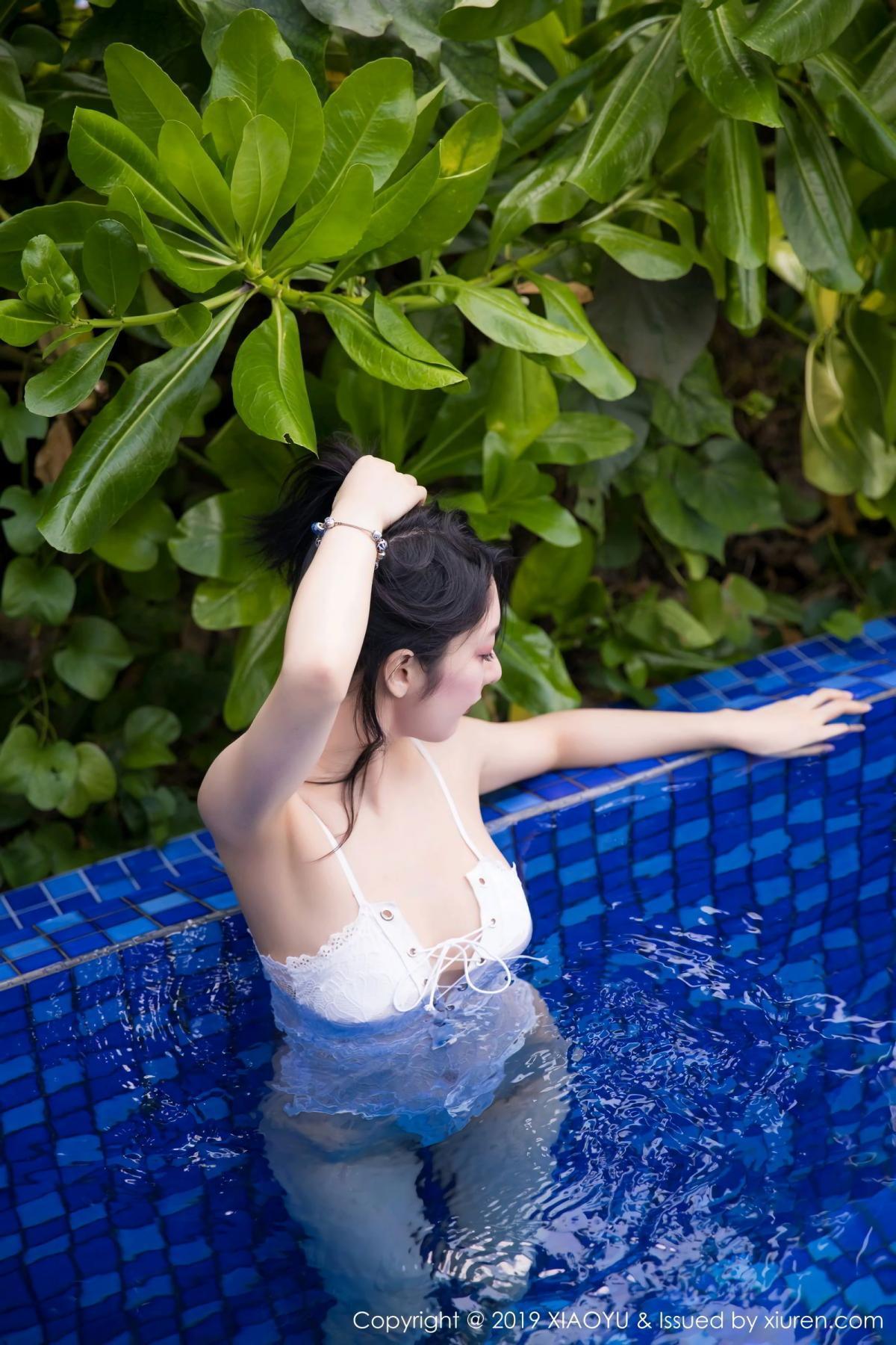 [XiaoYu] Vol.106 Di Yi 12P, Bikini, Di Yi, Swim Pool, Wet, XiaoYu