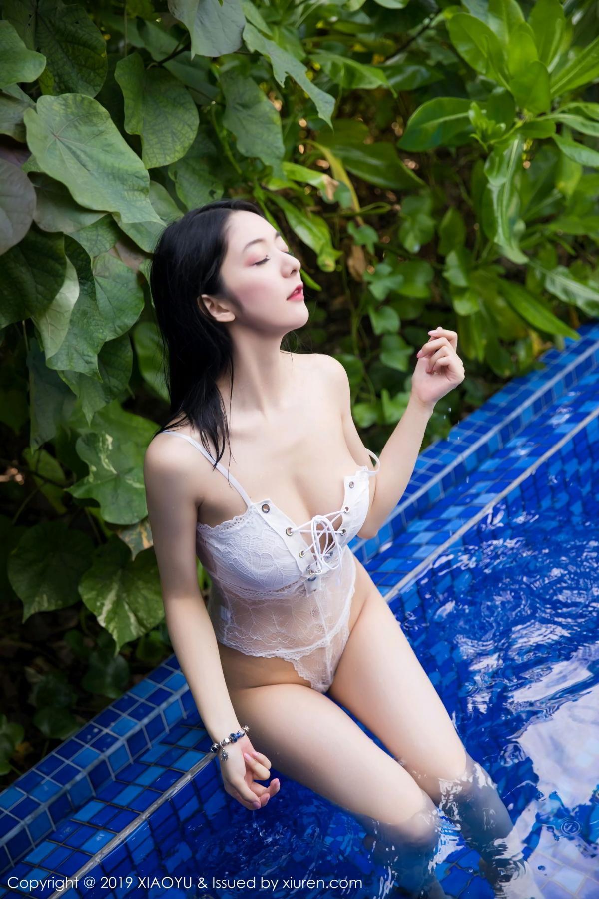 [XiaoYu] Vol.106 Di Yi 19P, Bikini, Di Yi, Swim Pool, Wet, XiaoYu