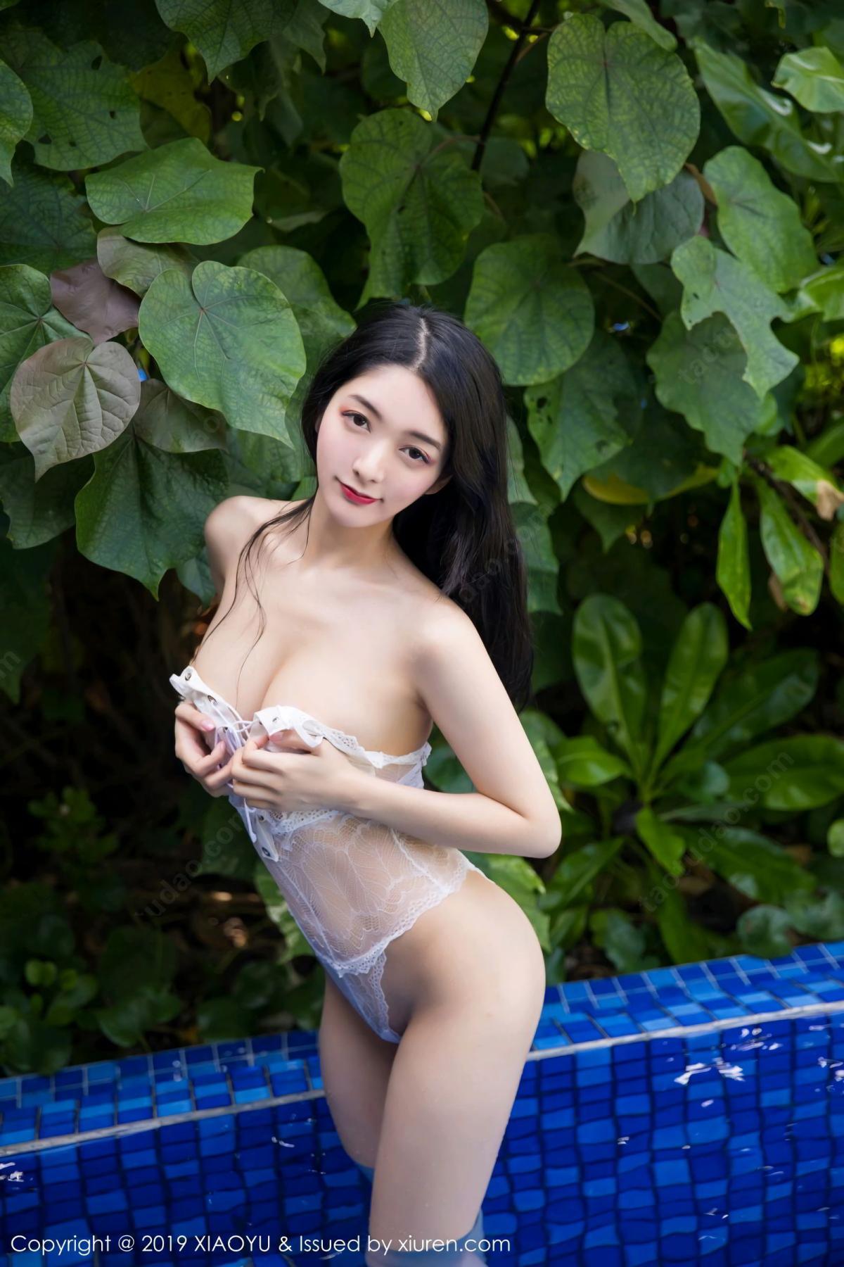 [XiaoYu] Vol.106 Di Yi 28P, Bikini, Di Yi, Swim Pool, Wet, XiaoYu