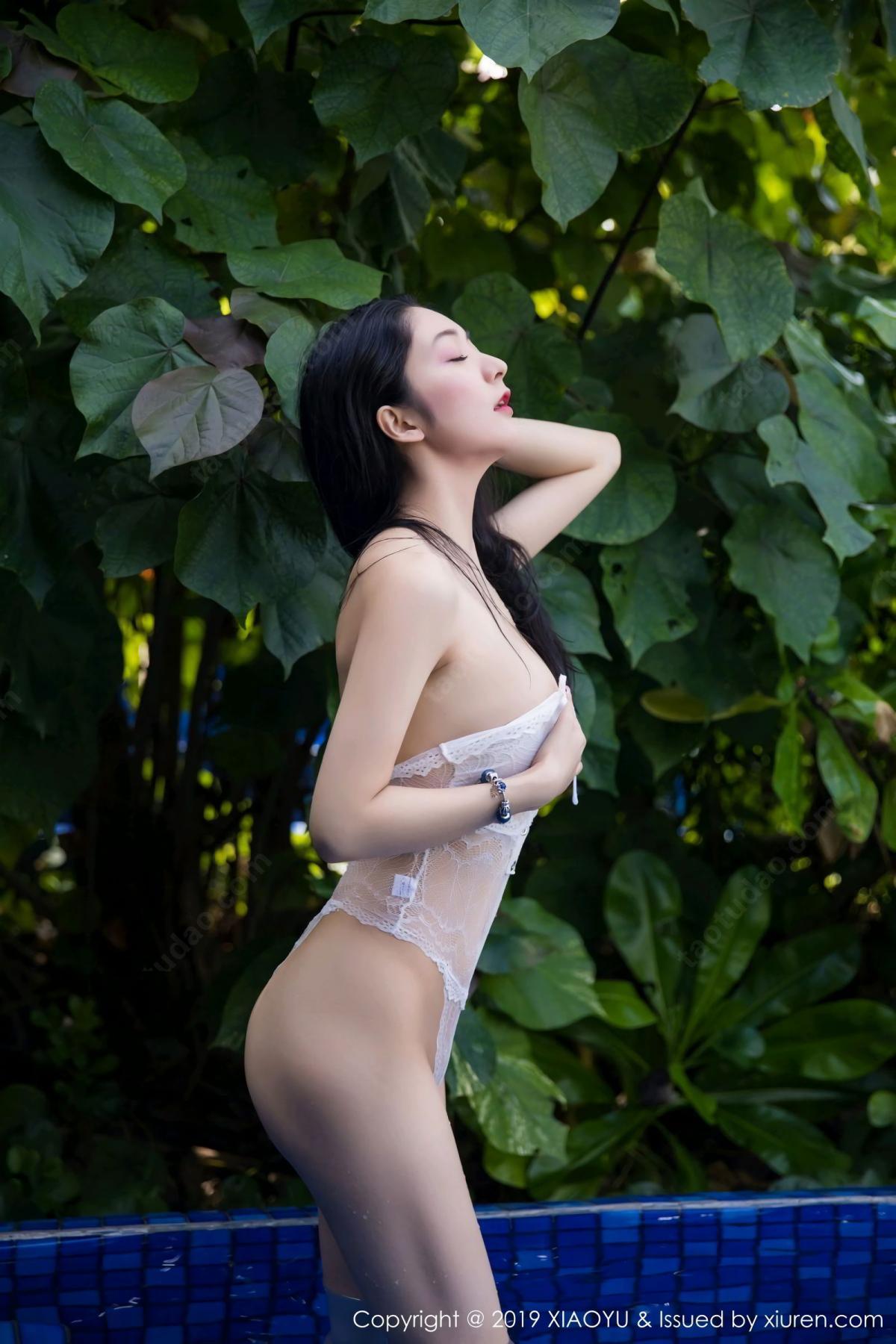 [XiaoYu] Vol.106 Di Yi 34P, Bikini, Di Yi, Swim Pool, Wet, XiaoYu