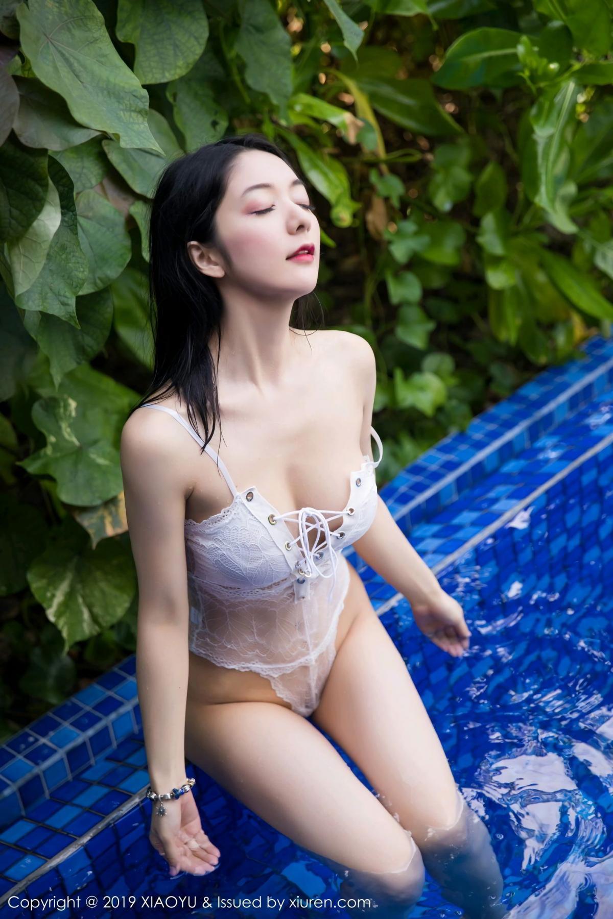 [XiaoYu] Vol.106 Di Yi 4P, Bikini, Di Yi, Swim Pool, Wet, XiaoYu