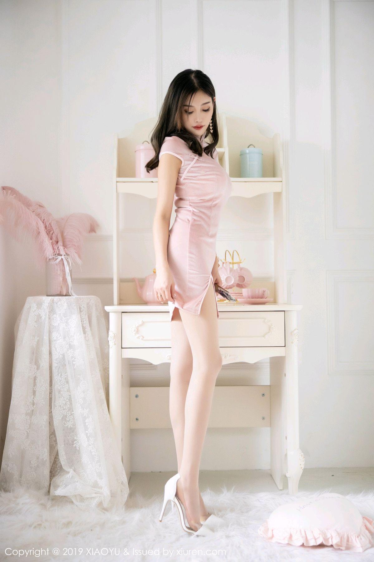 [XiaoYu] Vol.114 Yang Chen Chen 10P, Cheongsam, Foot, XiaoYu, Yang Chen Chen