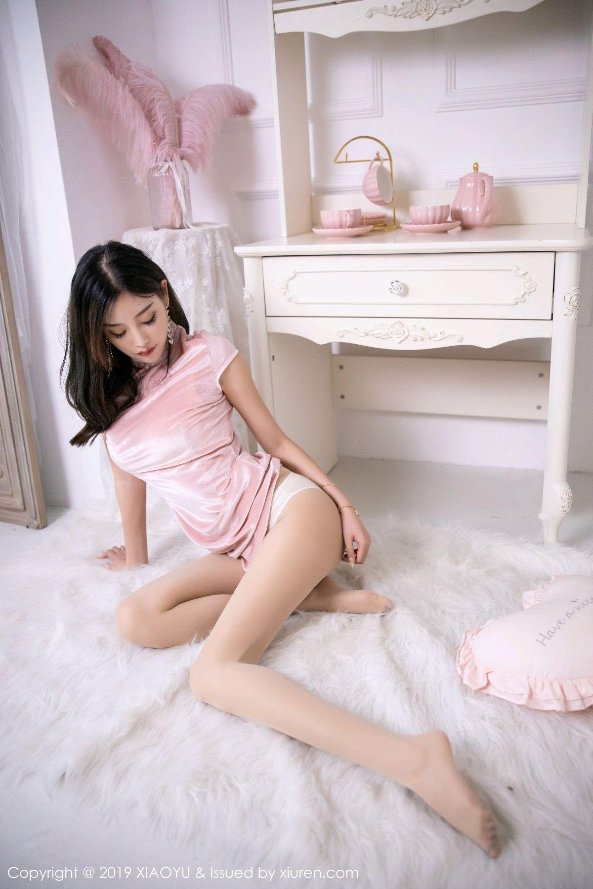 [XiaoYu] Vol.114 Yang Chen Chen 41P, Cheongsam, Foot, XiaoYu, Yang Chen Chen