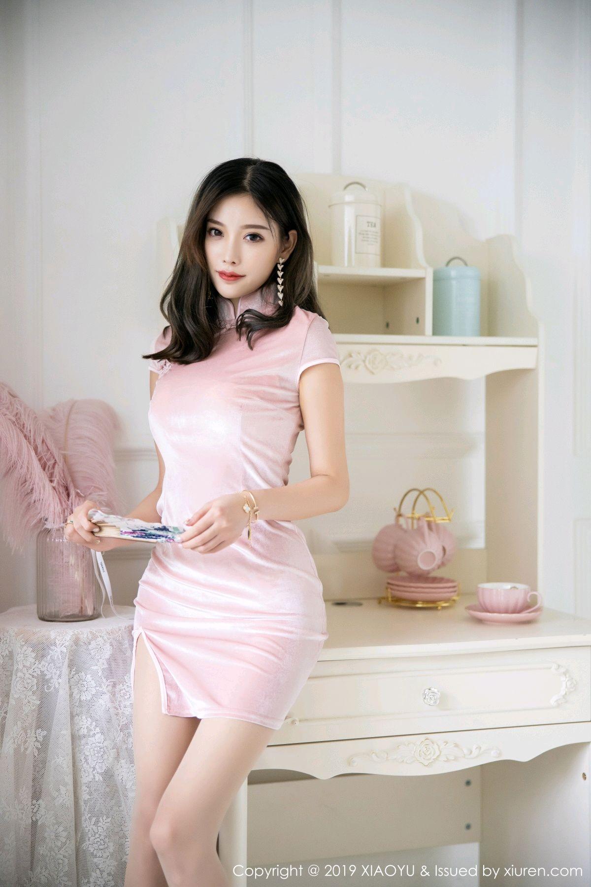 [XiaoYu] Vol.114 Yang Chen Chen 7P, Cheongsam, Foot, XiaoYu, Yang Chen Chen