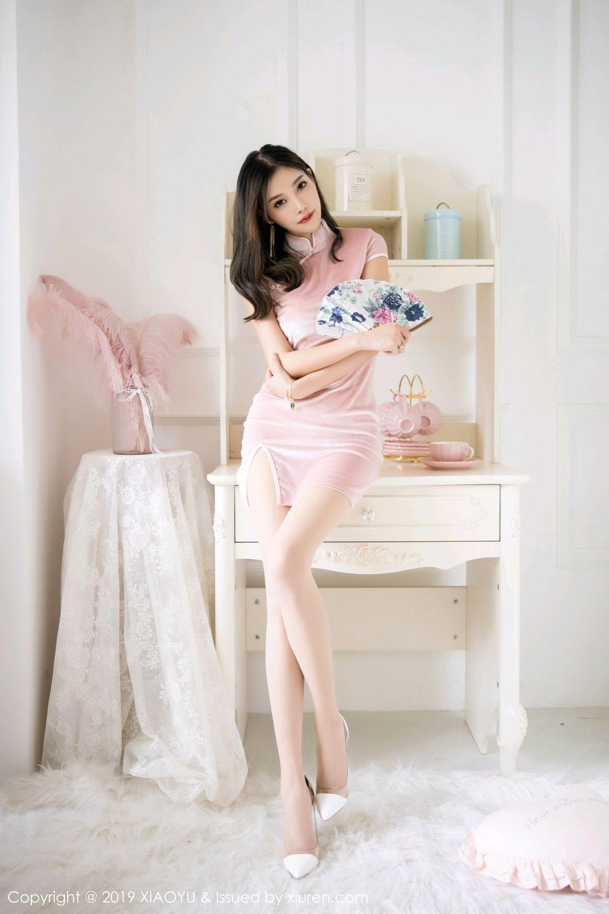 [XiaoYu] Vol.114 Yang Chen Chen 9P, Cheongsam, Foot, XiaoYu, Yang Chen Chen