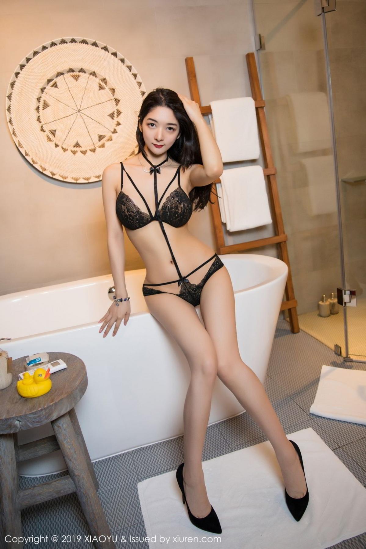 [XiaoYu] Vol.115 Di Yi 31P, Black Silk, Di Yi, Stewardess, Tall, XiaoYu