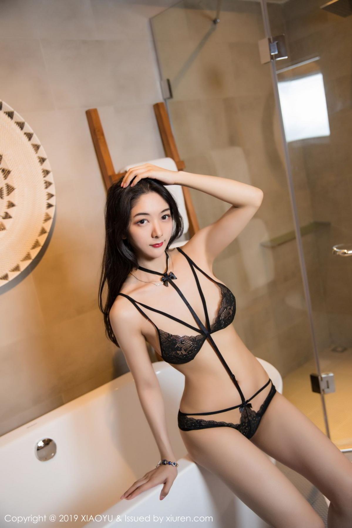 [XiaoYu] Vol.115 Di Yi 32P, Black Silk, Di Yi, Stewardess, Tall, XiaoYu