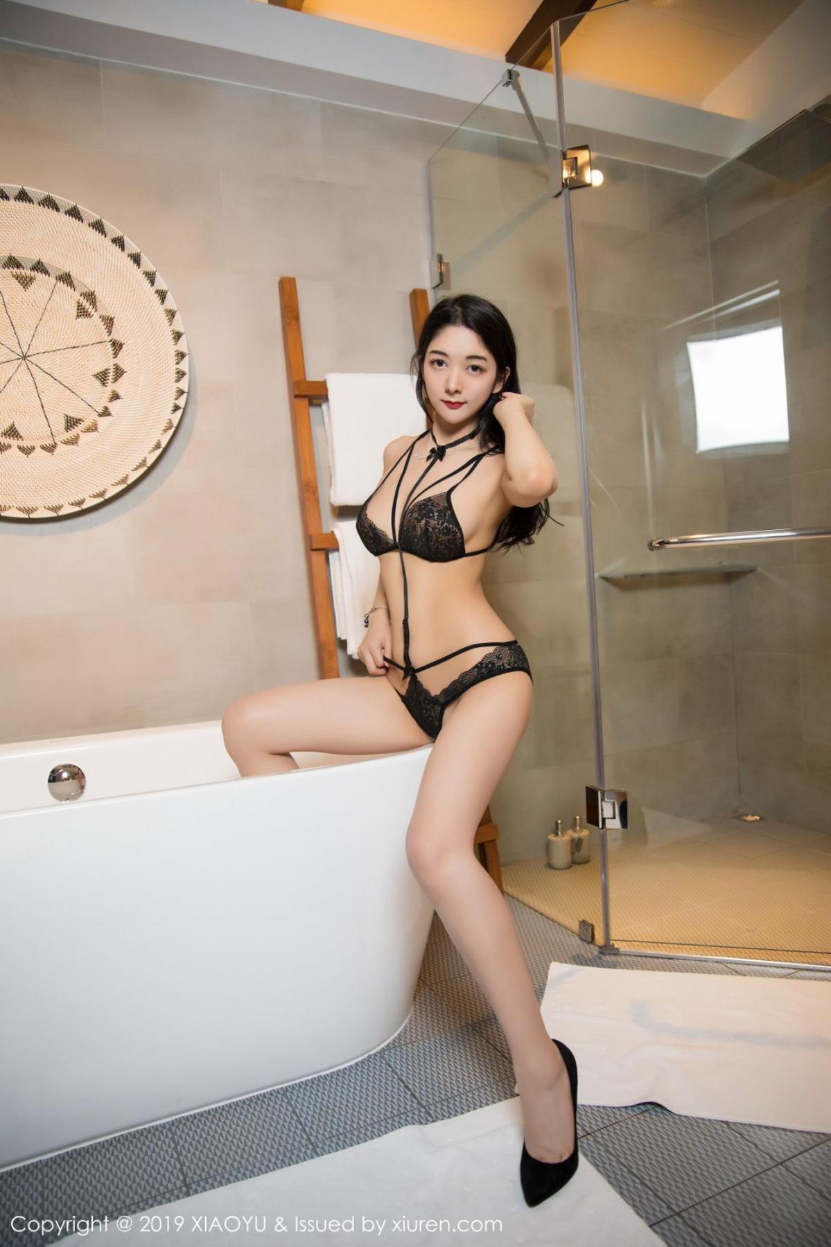 [XiaoYu] Vol.115 Di Yi 41P, Black Silk, Di Yi, Stewardess, Tall, XiaoYu