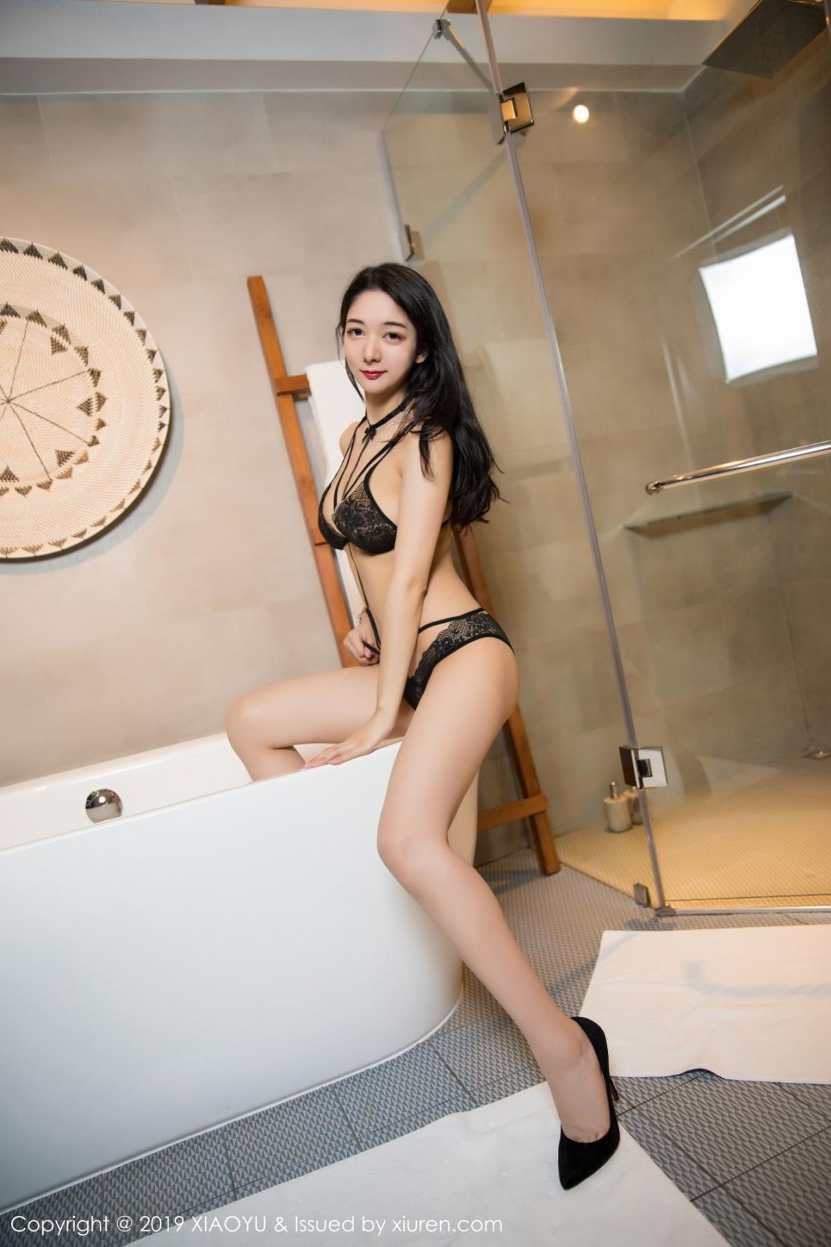 [XiaoYu] Vol.115 Di Yi 43P, Black Silk, Di Yi, Stewardess, Tall, XiaoYu