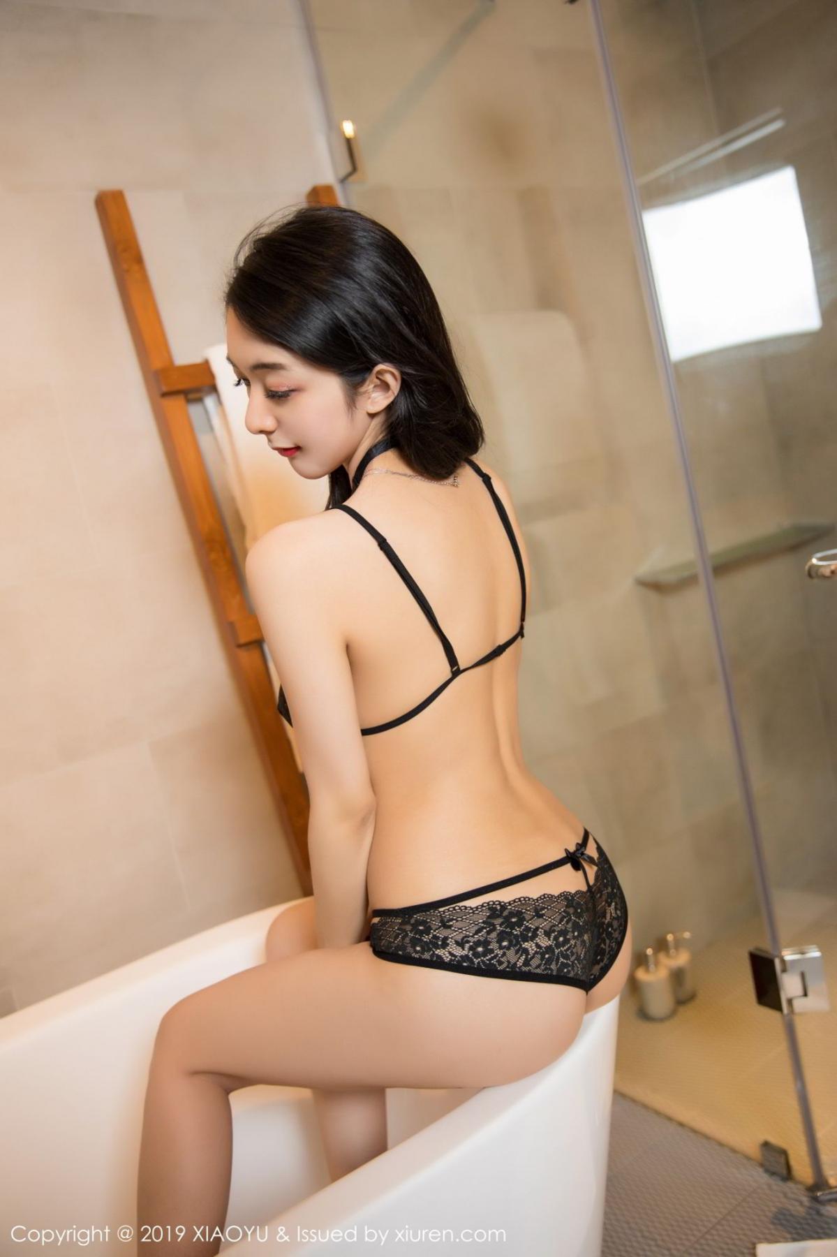 [XiaoYu] Vol.115 Di Yi 45P, Black Silk, Di Yi, Stewardess, Tall, XiaoYu