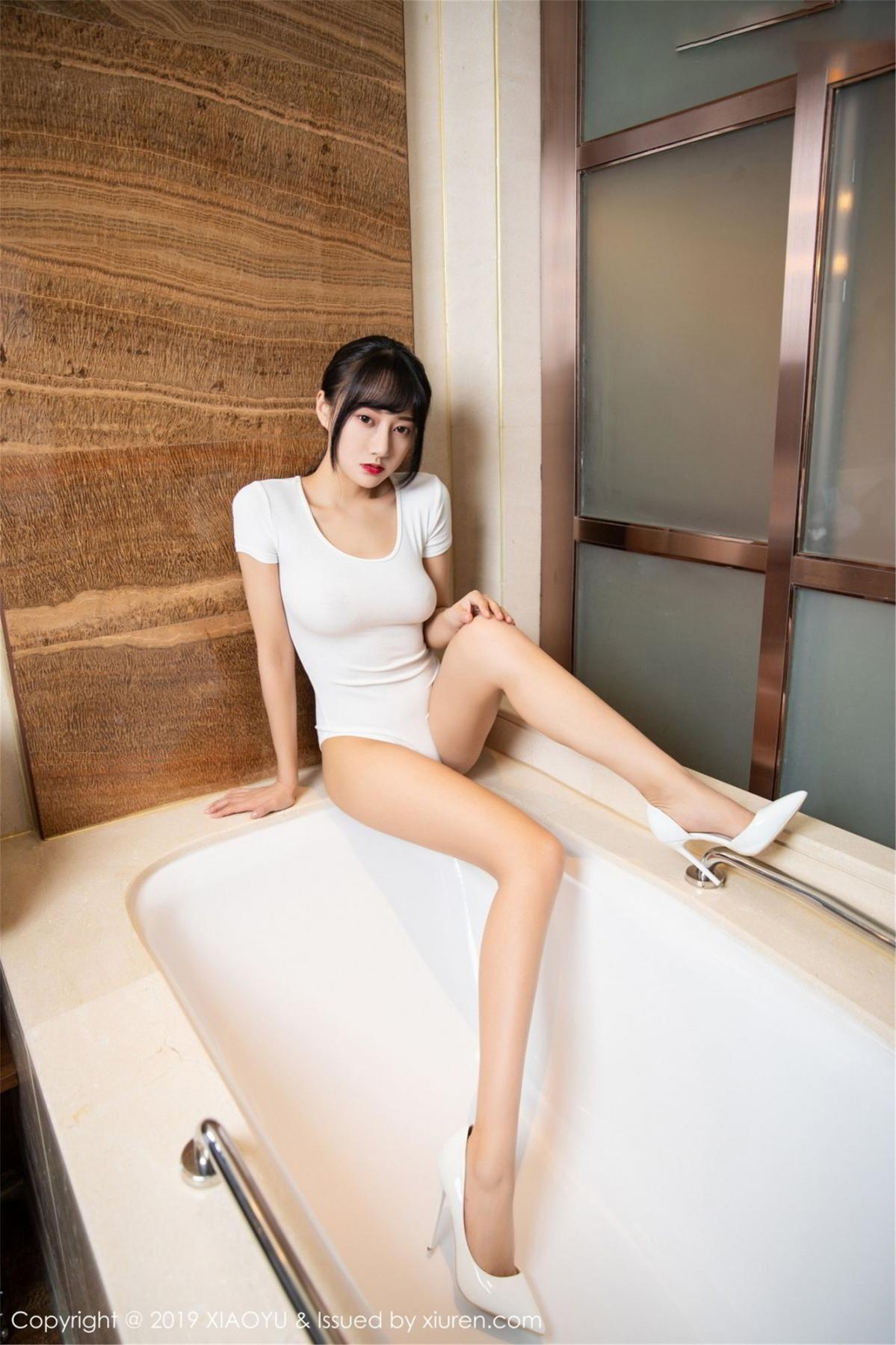 [XiaoYu] Vol.116 He Jia Ying 10P, Bathroom, He Jia Ying, Wet, XiaoYu